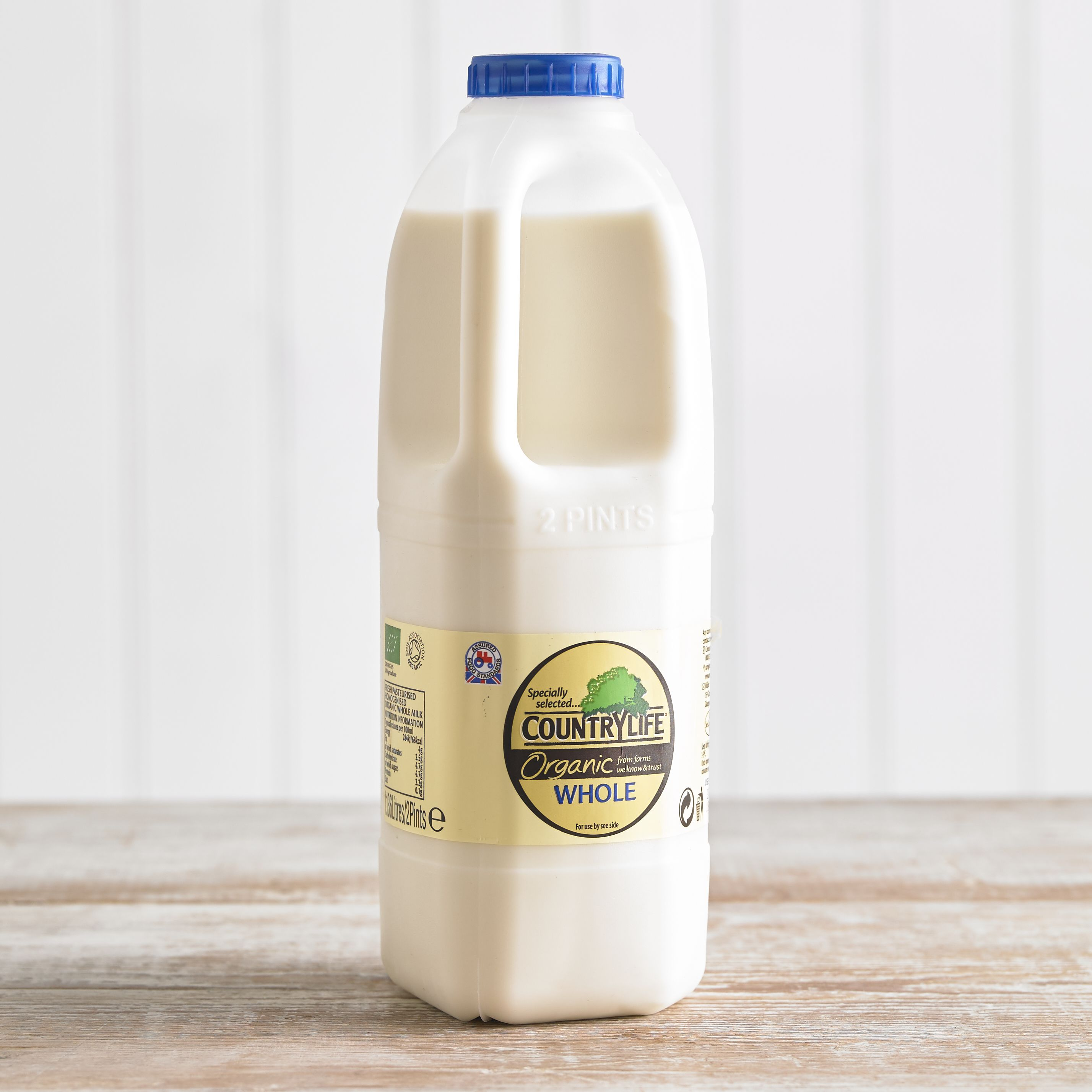Country Life Organic Whole Milk, 1.136L, 2pt