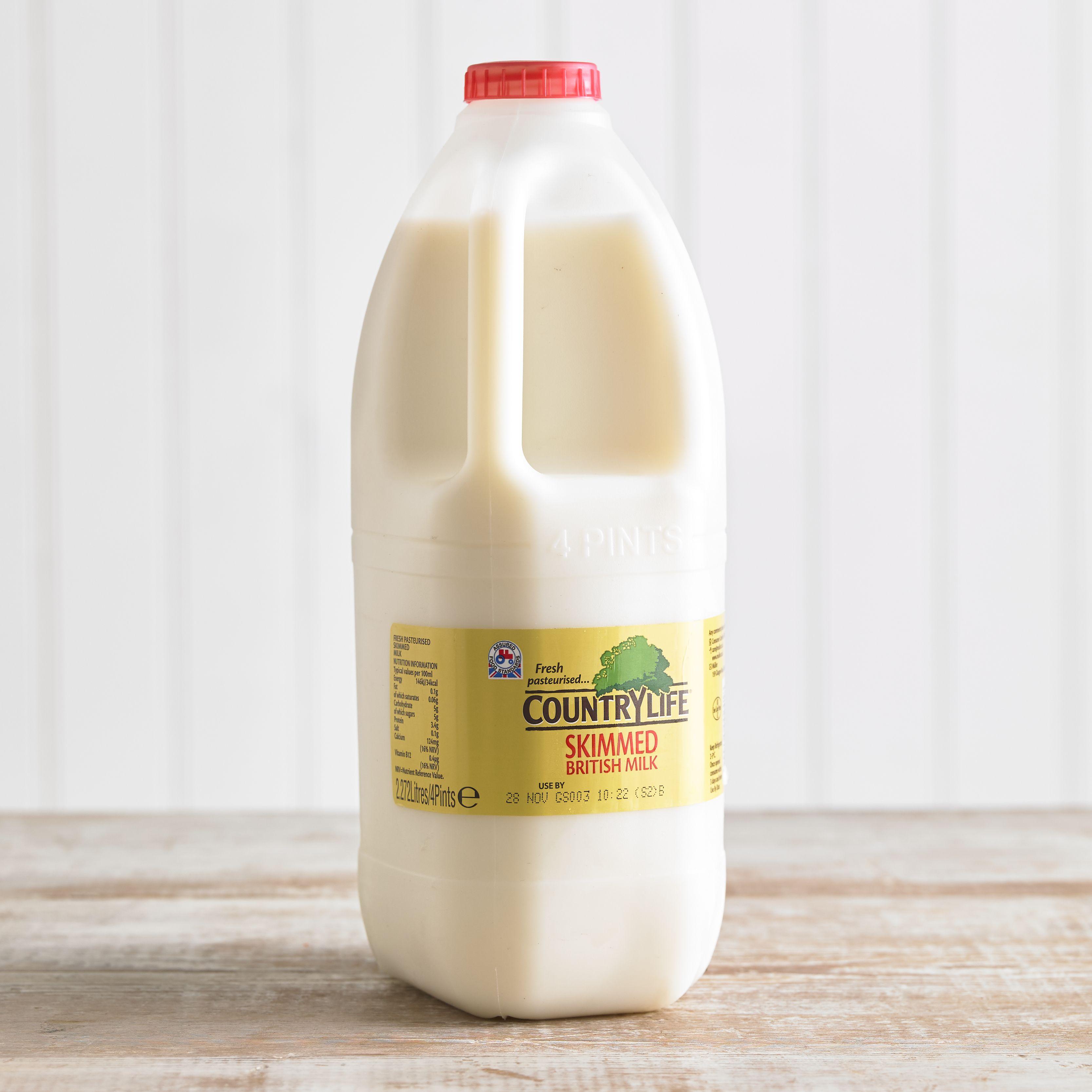 Country Life Skimmed Milk, 2.27L, 4pt