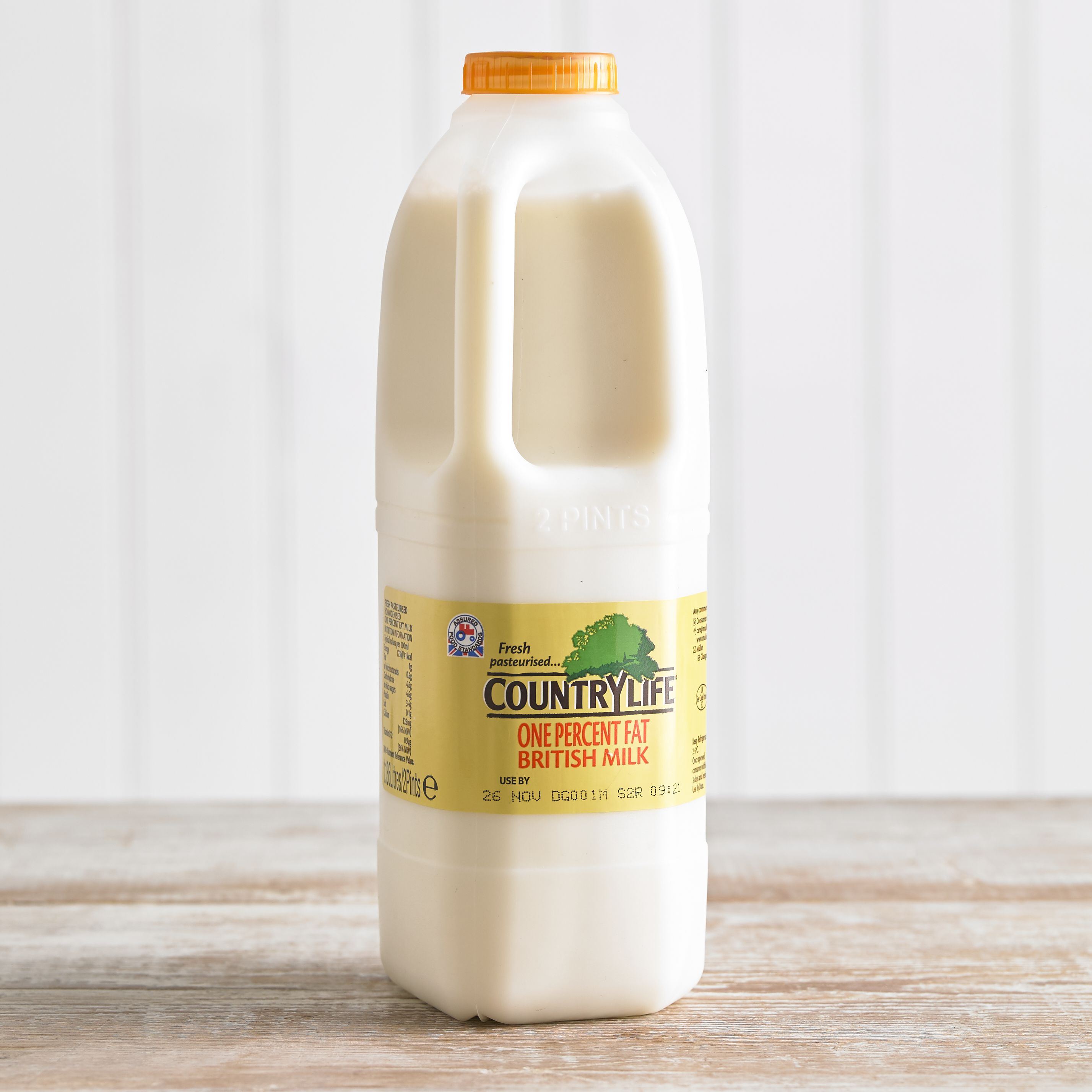 Country Life 1% Fat Milk, 1.136L, 2pt