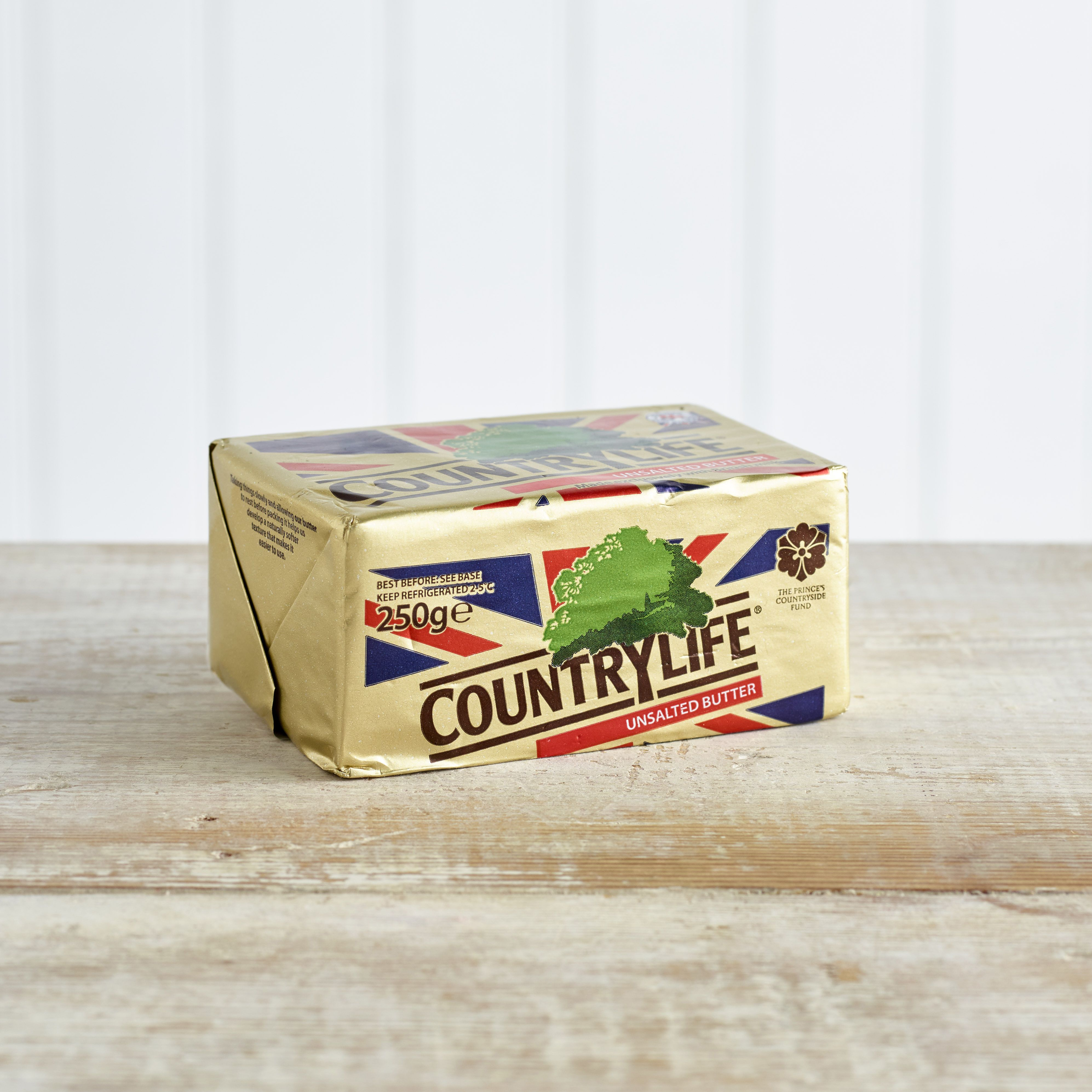 Country Life Unsalted Butter, 250g
