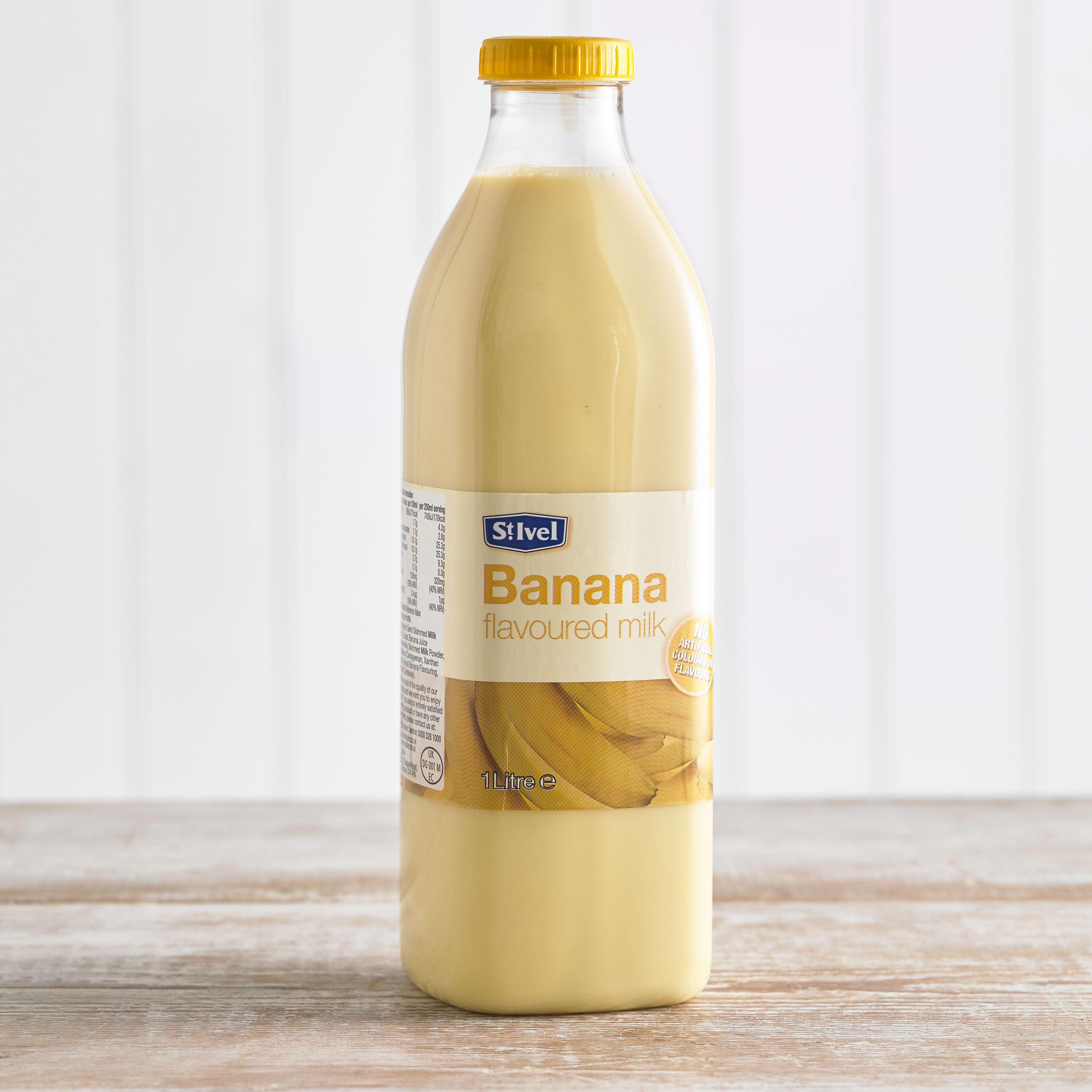 St Ivel Flavoured Milk Drink Banana, 1L