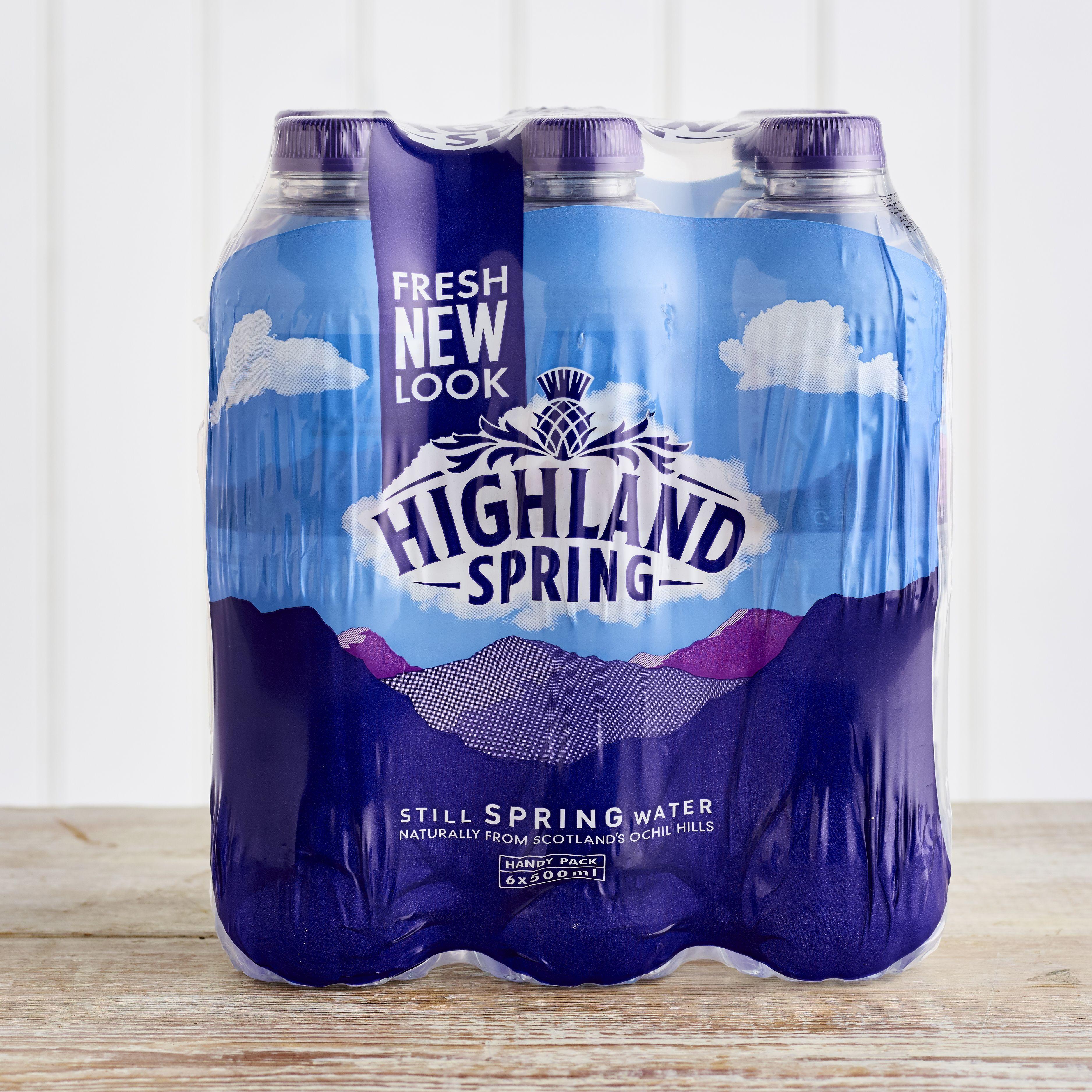 Highland Spring Still Water Multipack, 6 x 500ml