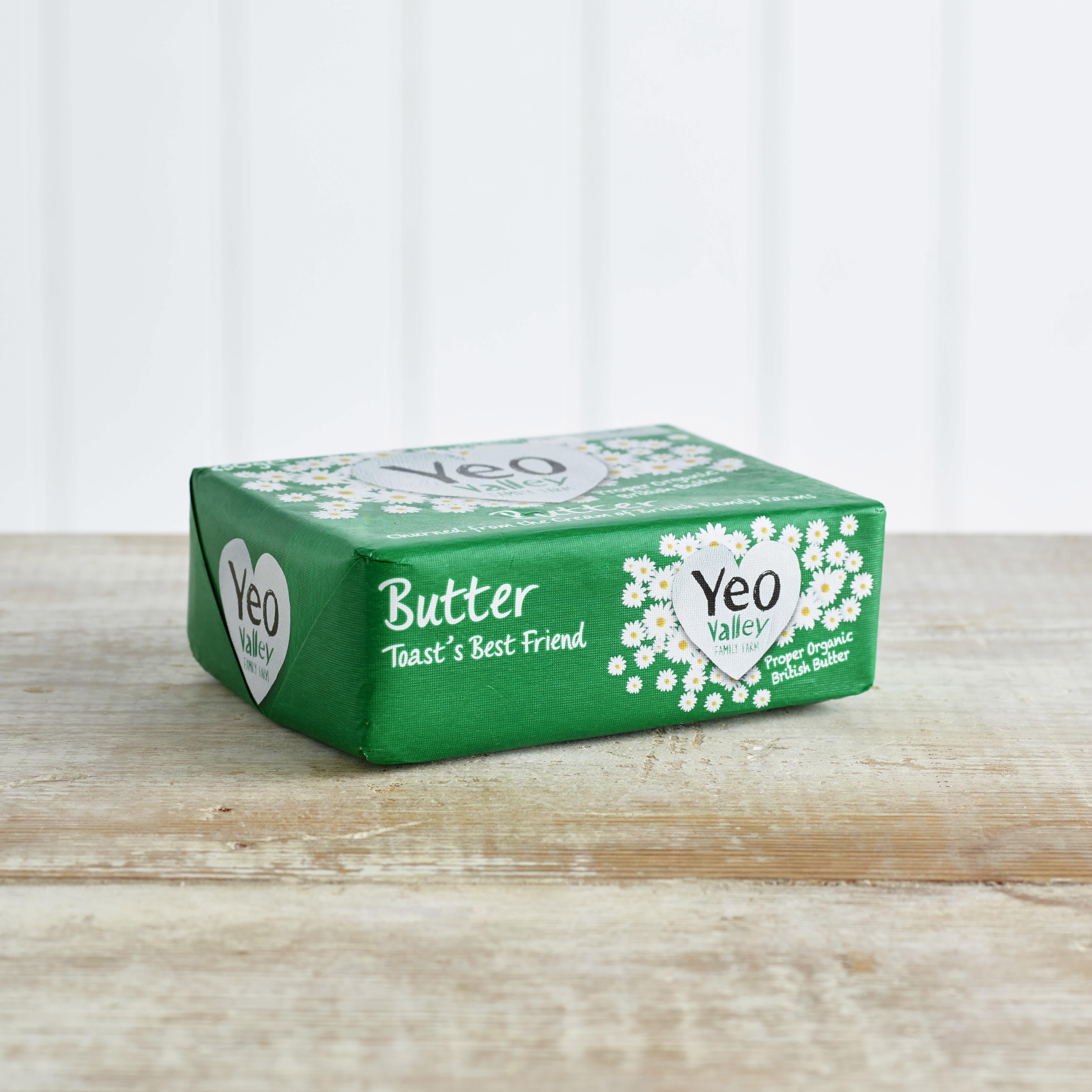 Yeo Valley Organic Butter, 250g