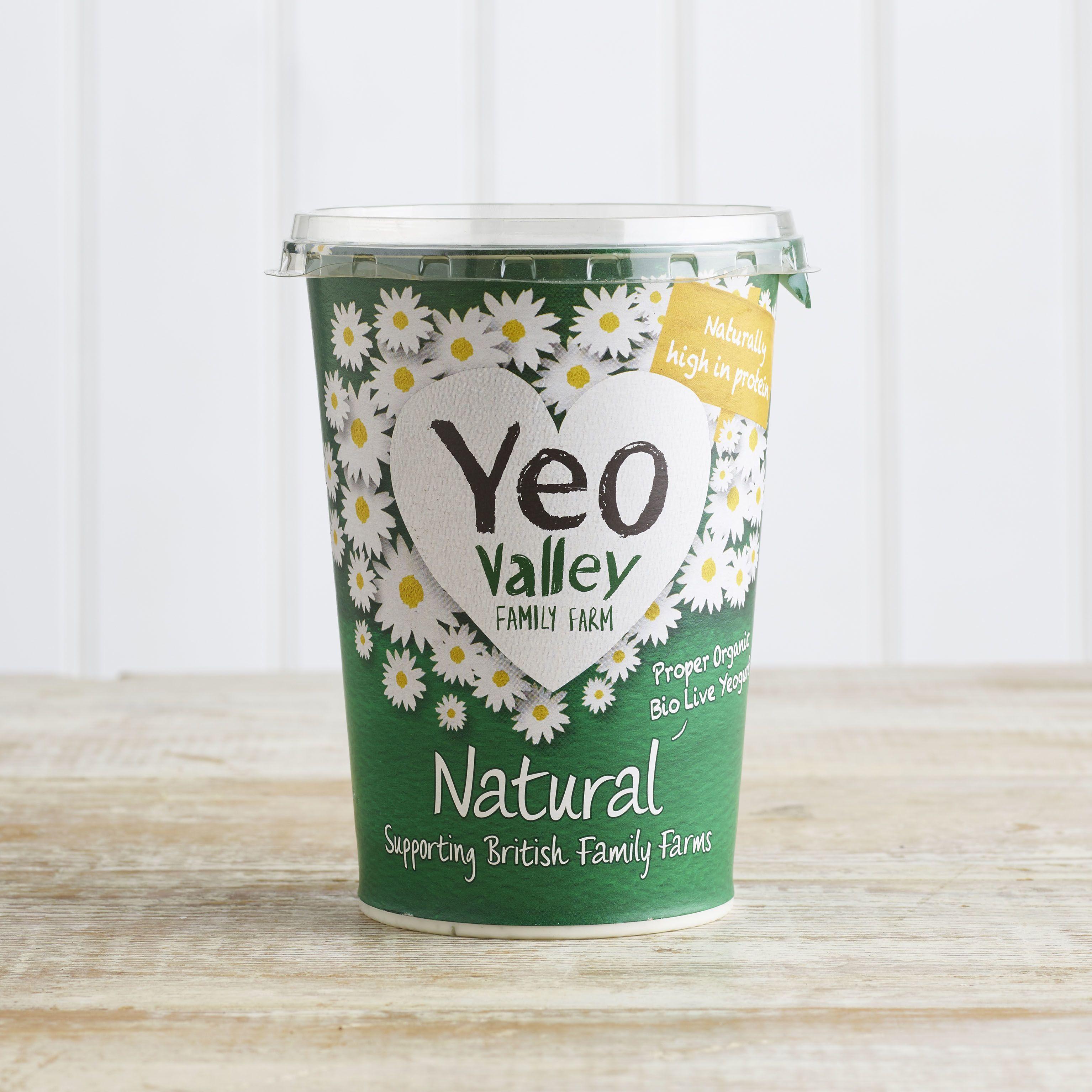 Yeo Valley Organic Natural Yoghurt, 500g