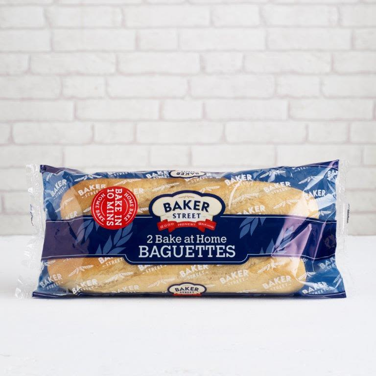 Part-baked Long Life French Baguettes, 2 Pack