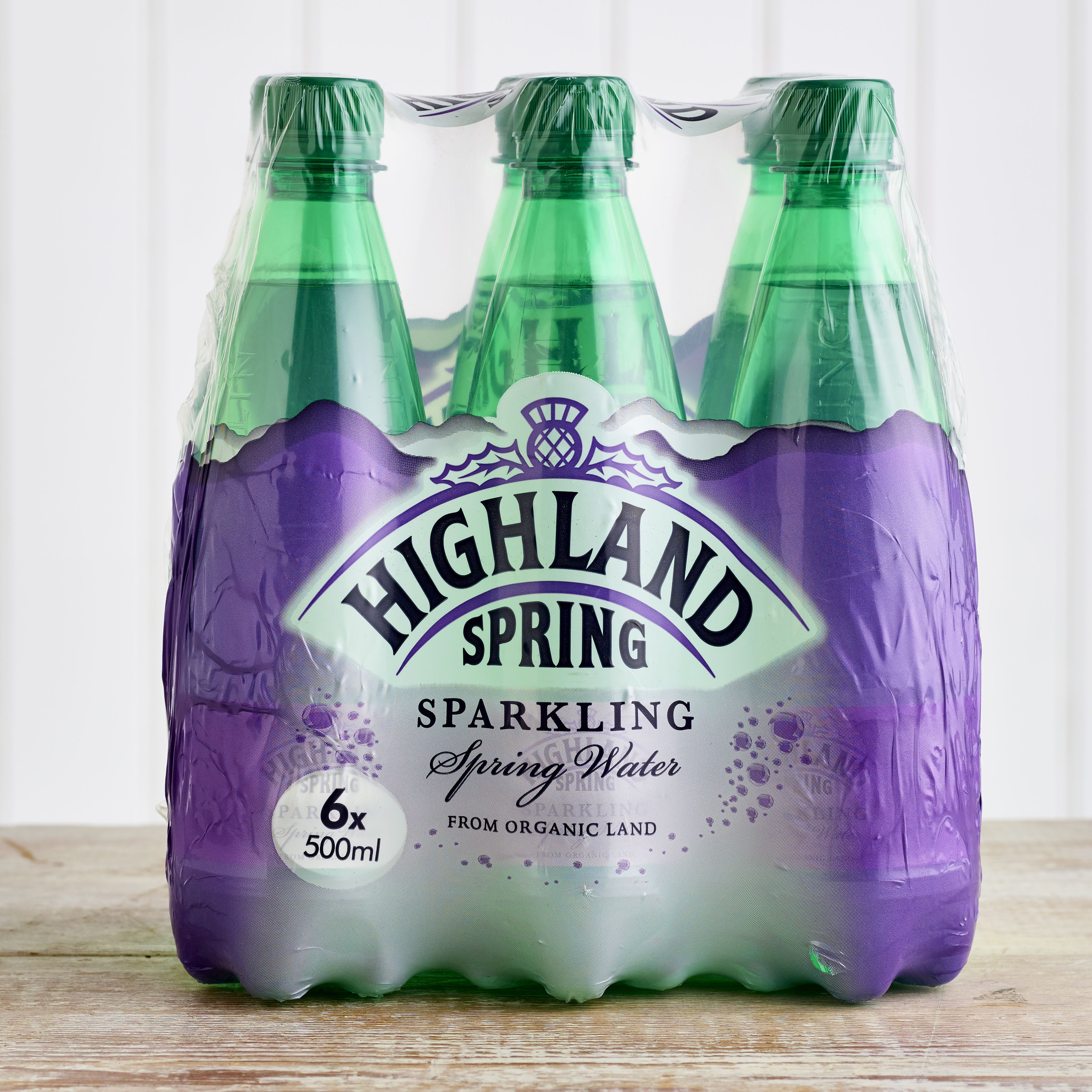 Highland Spring Sparkling Water Multipack, 6 x 500ml