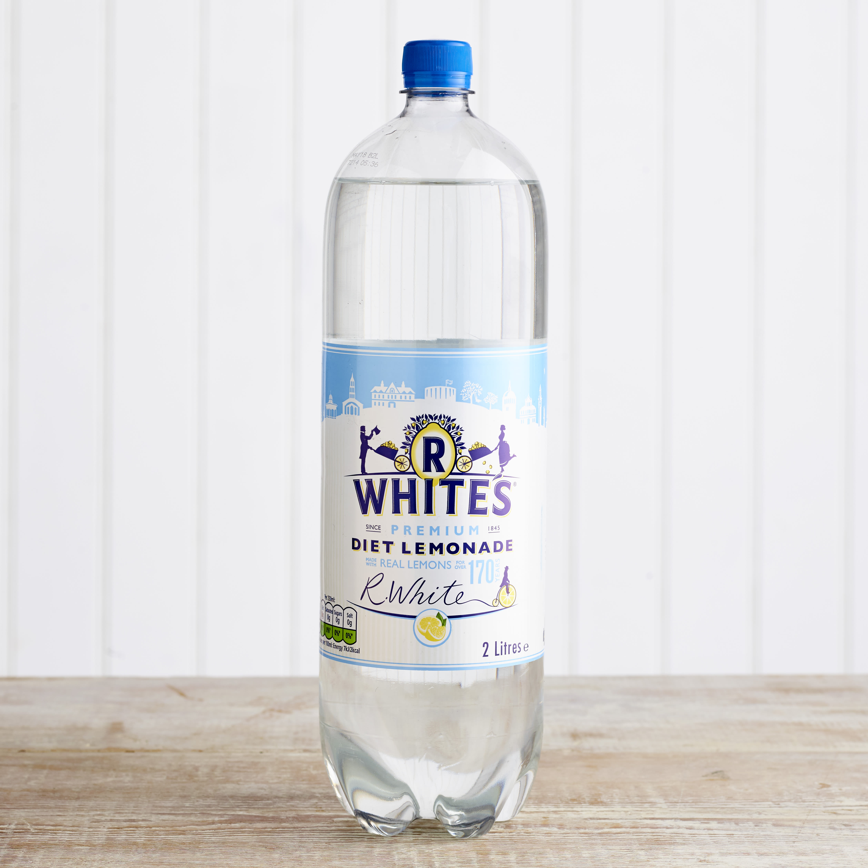 R Whites Diet Lemonade, 2L