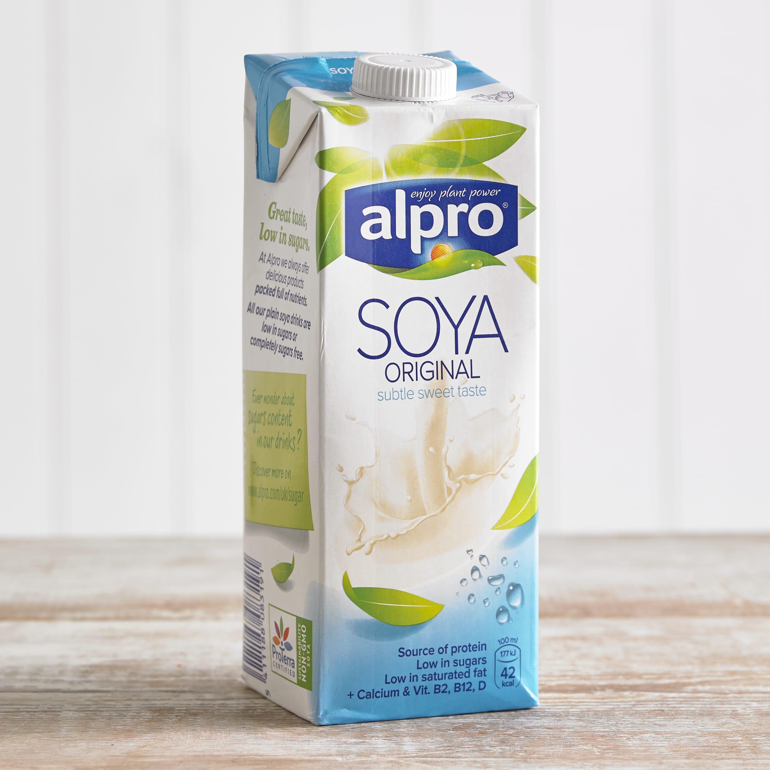 Alpro Soya Original Longlife Milk Alternative, 1L