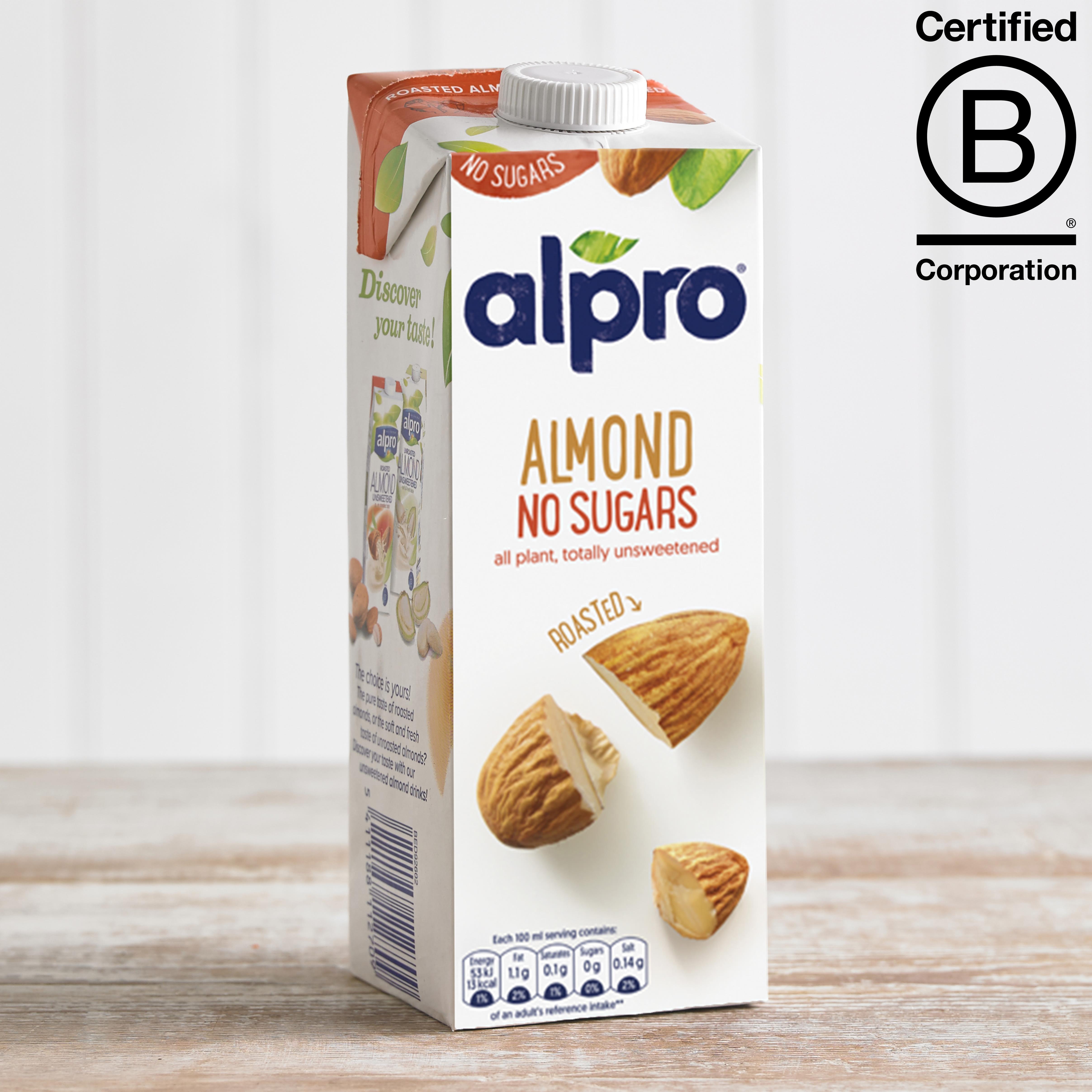 Alpro Unsweetened Almond Longlife Milk Alternative, 1L
