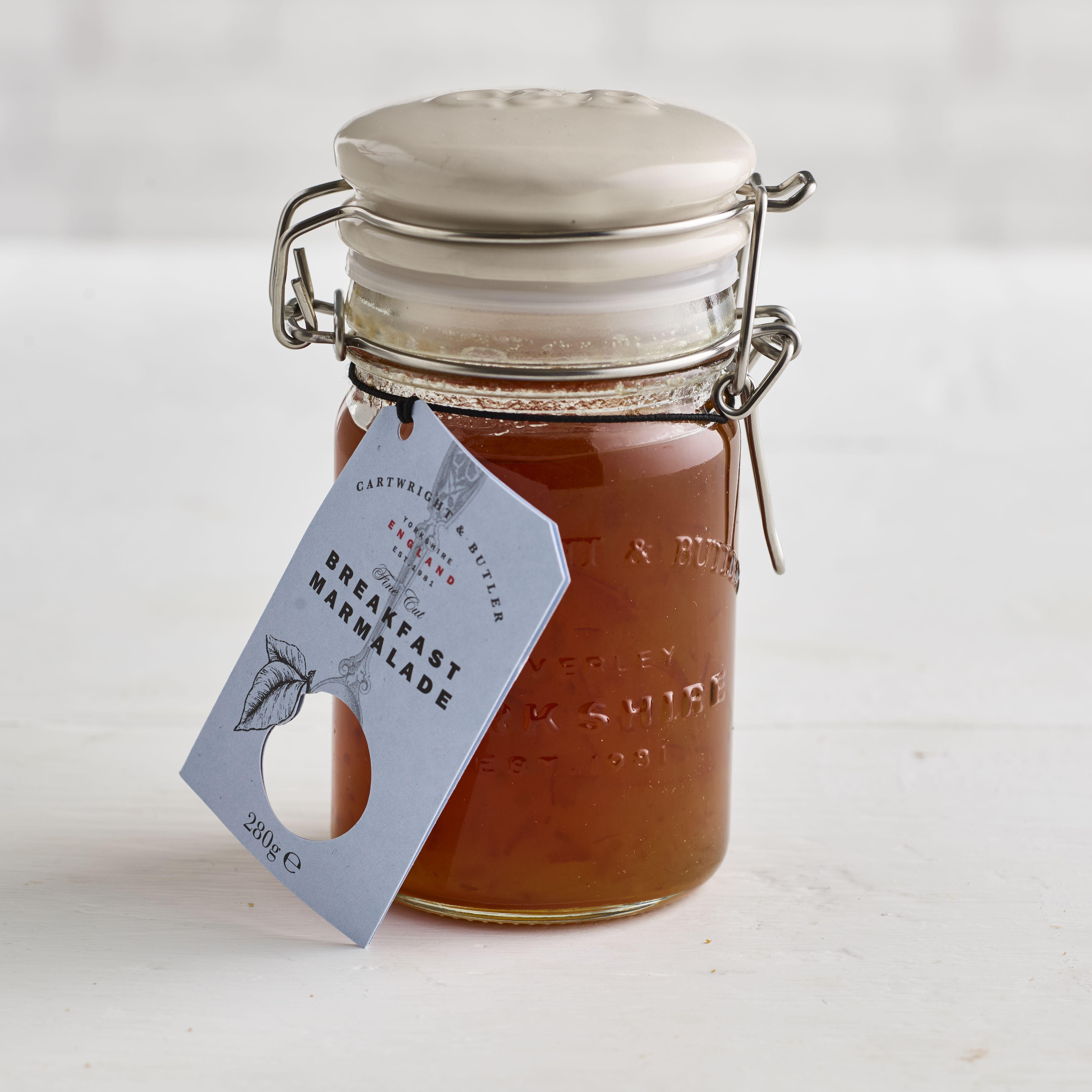 Cartwright & Butler Fine Cut English Breakfast Marmalade, 280g