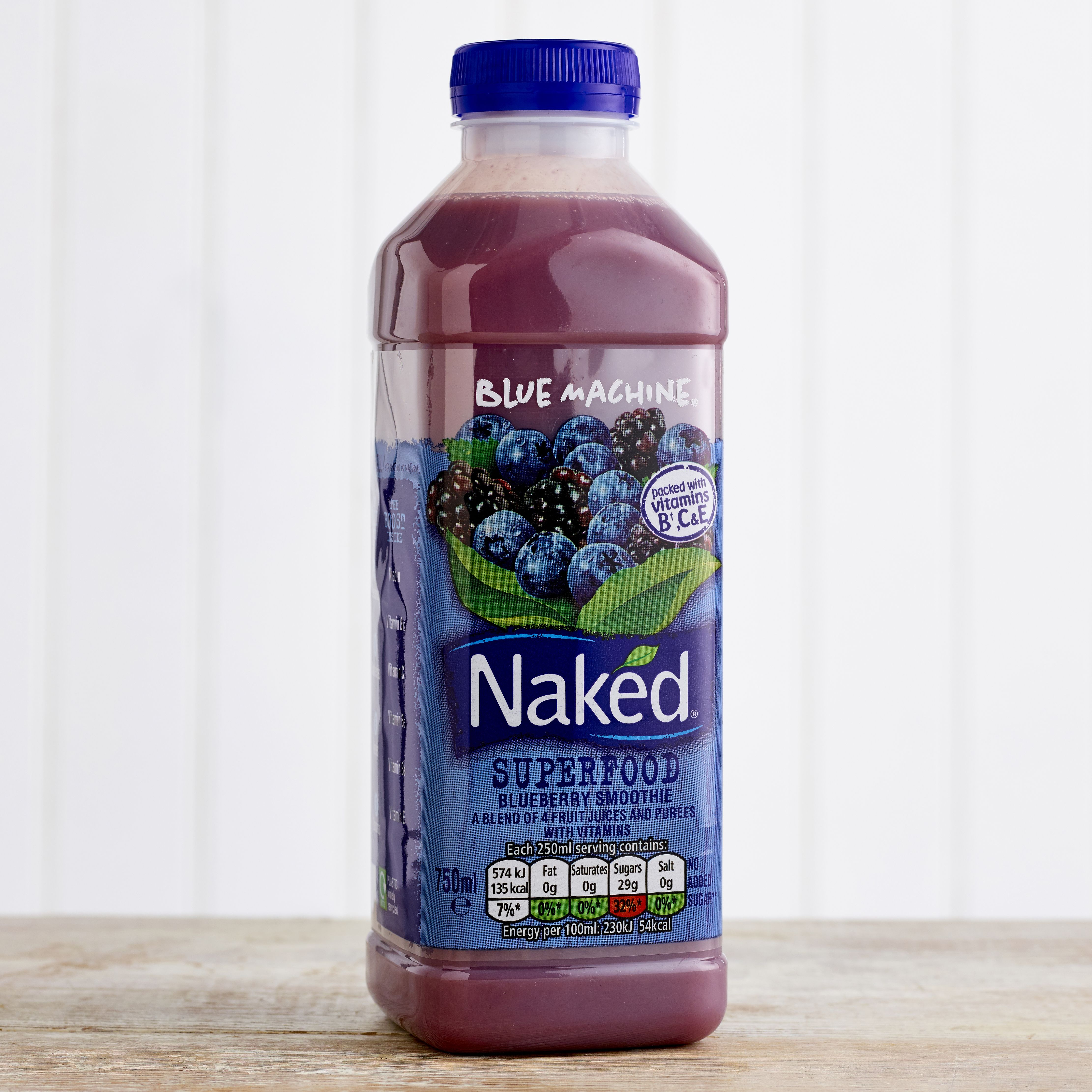 Naked Superfood Blueberry Smoothie, 750ml