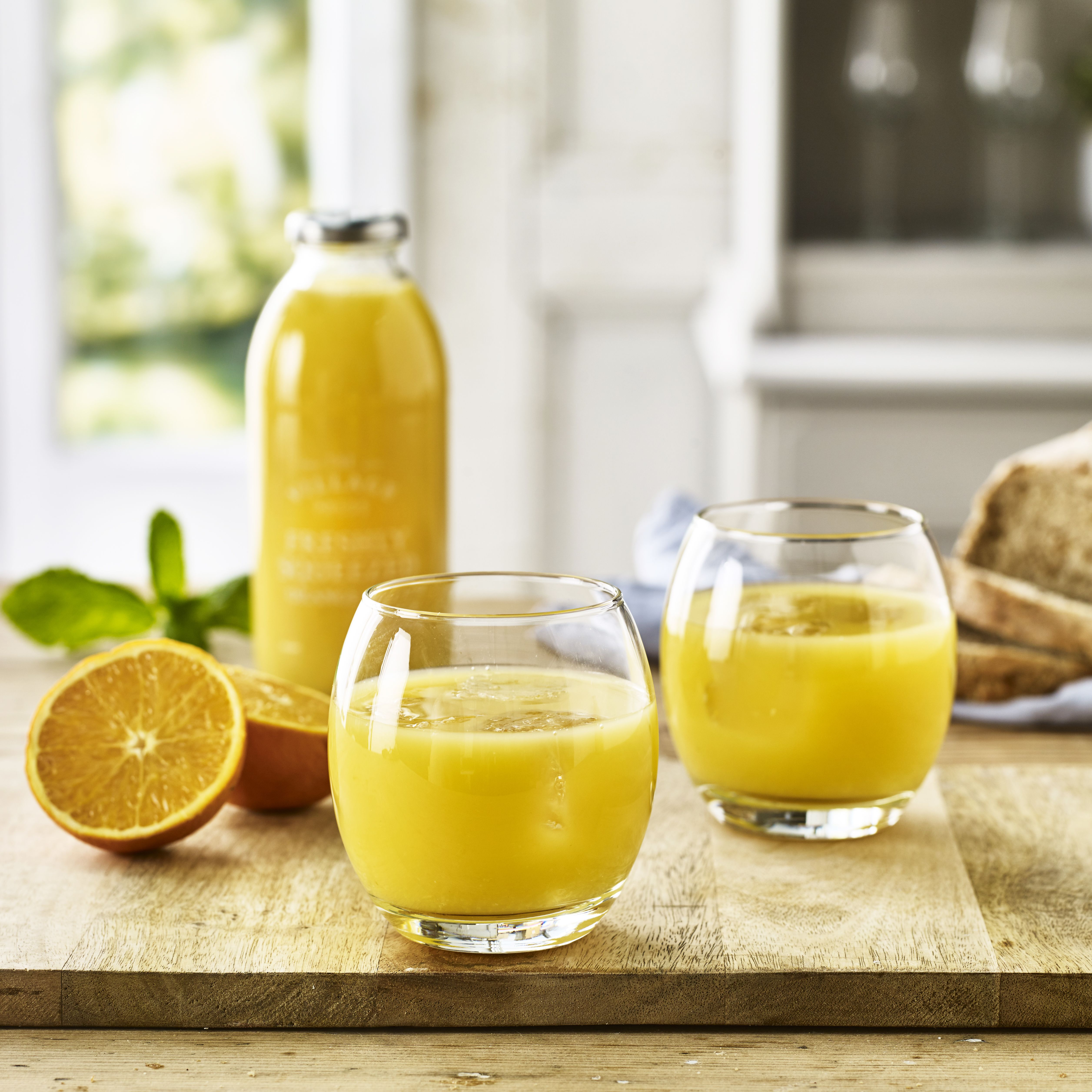 The Village Press Freshly Squeezed Orange Juice, 500ml