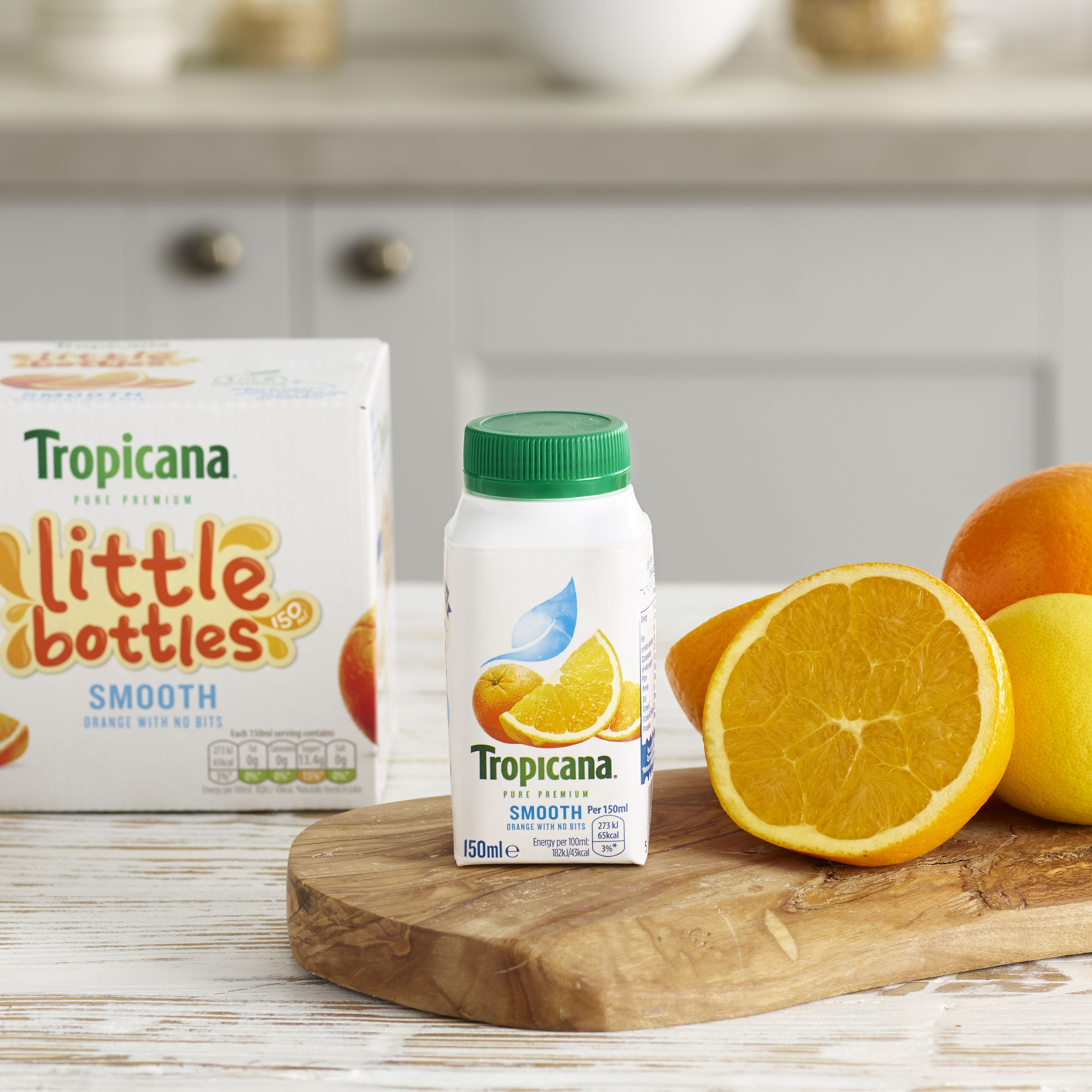 Tropicana little bottles, Orange 6 x 150ml