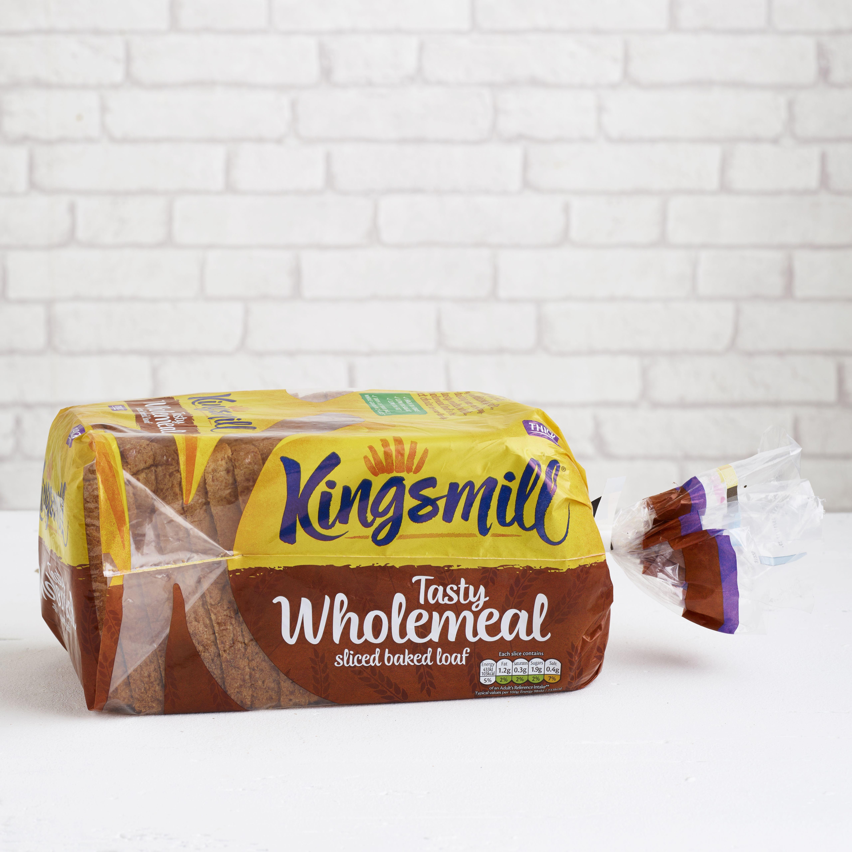 Kingsmill Tasty Wholemeal, Thick, 800g