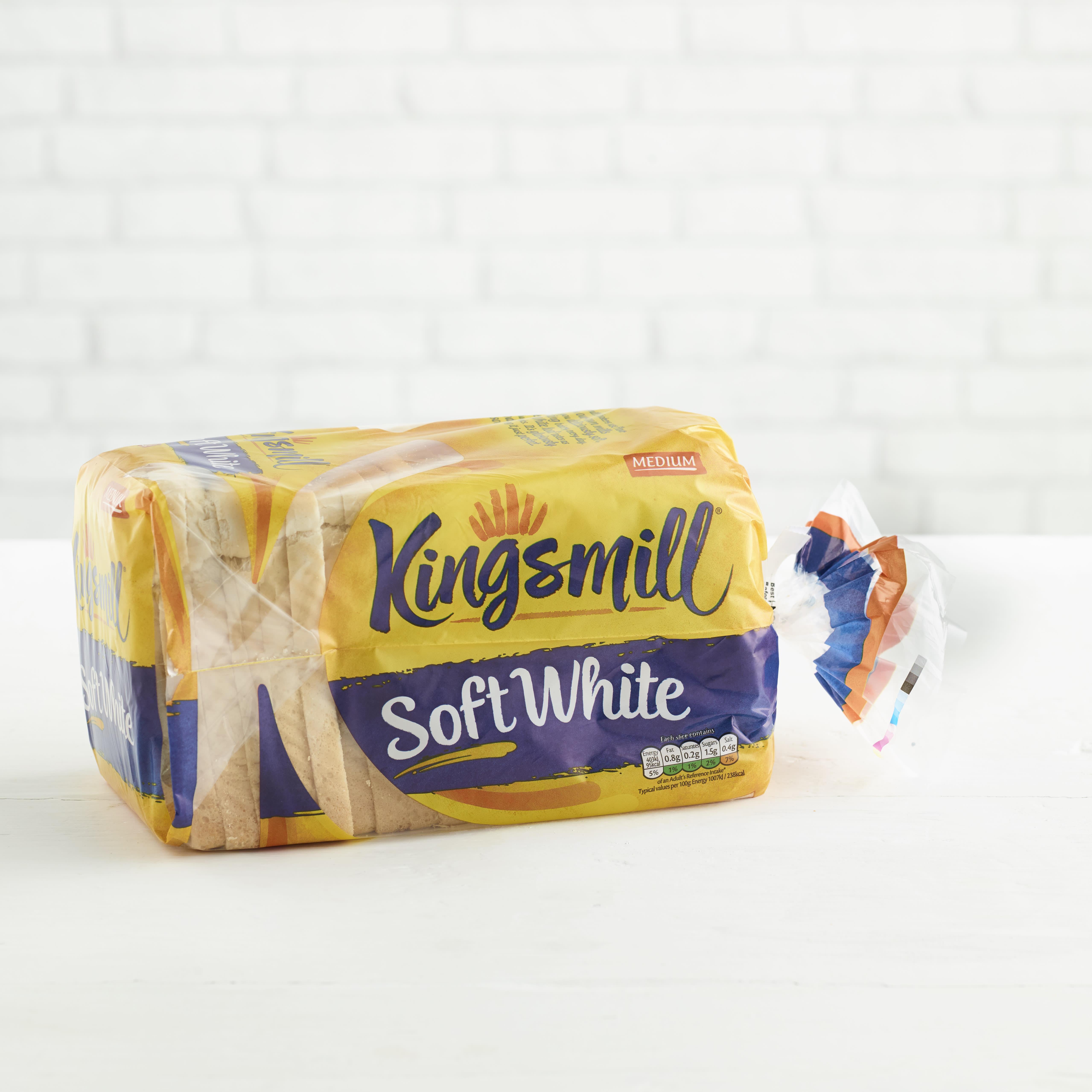 Kingsmill Soft White, Medium, 800g