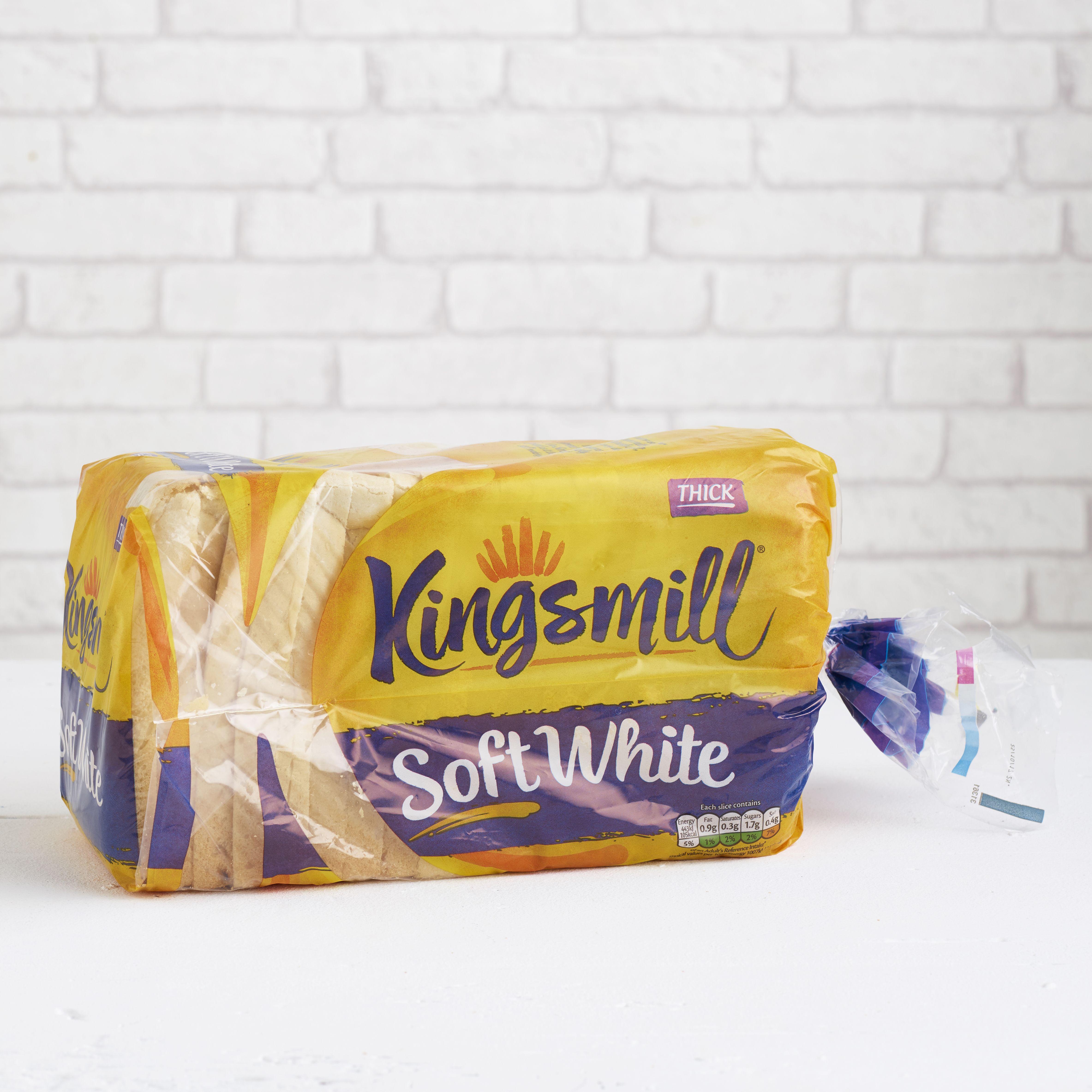 Kingsmill Soft White, Thick, 800g