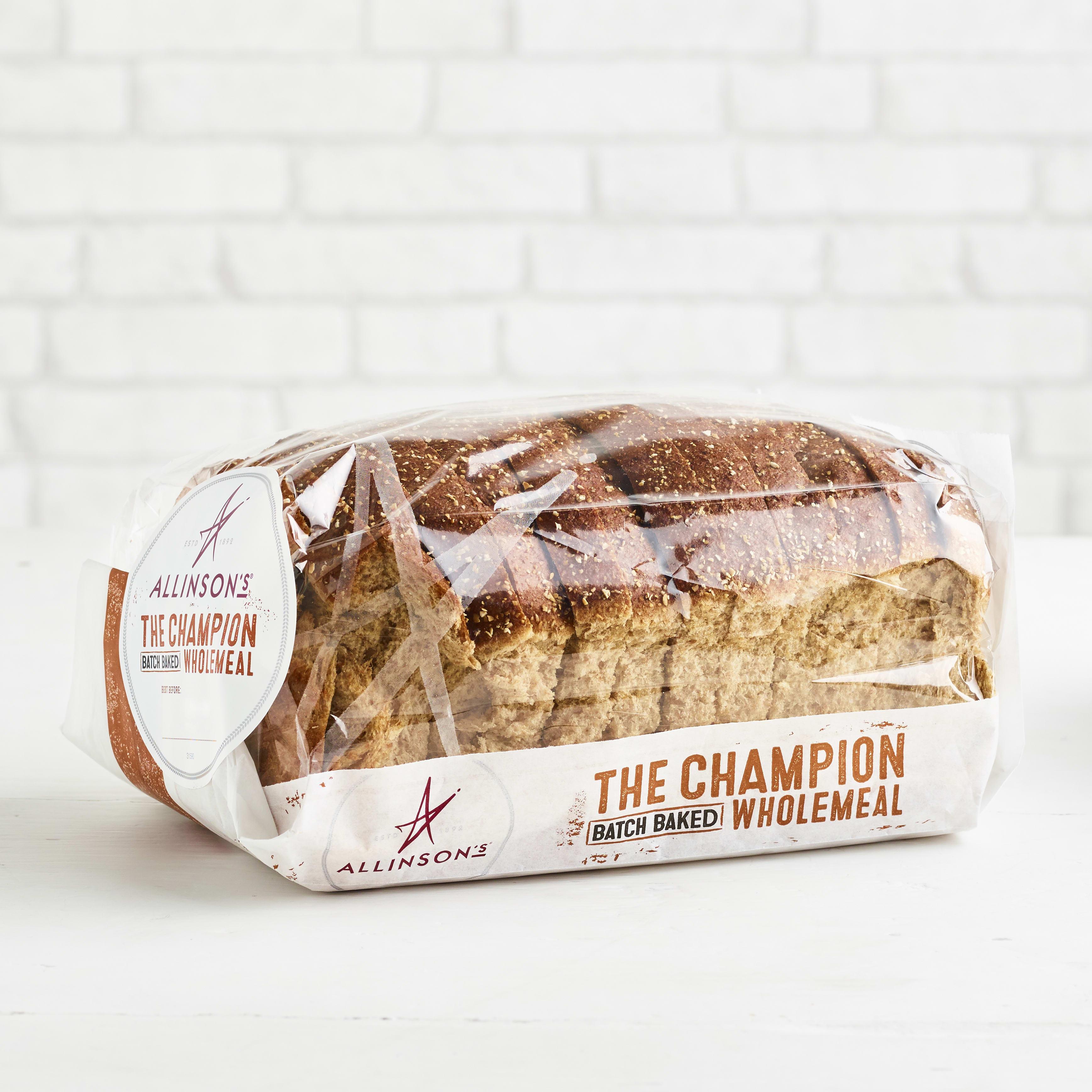 Allinsons Wholemeal Batch Loaf, 650g