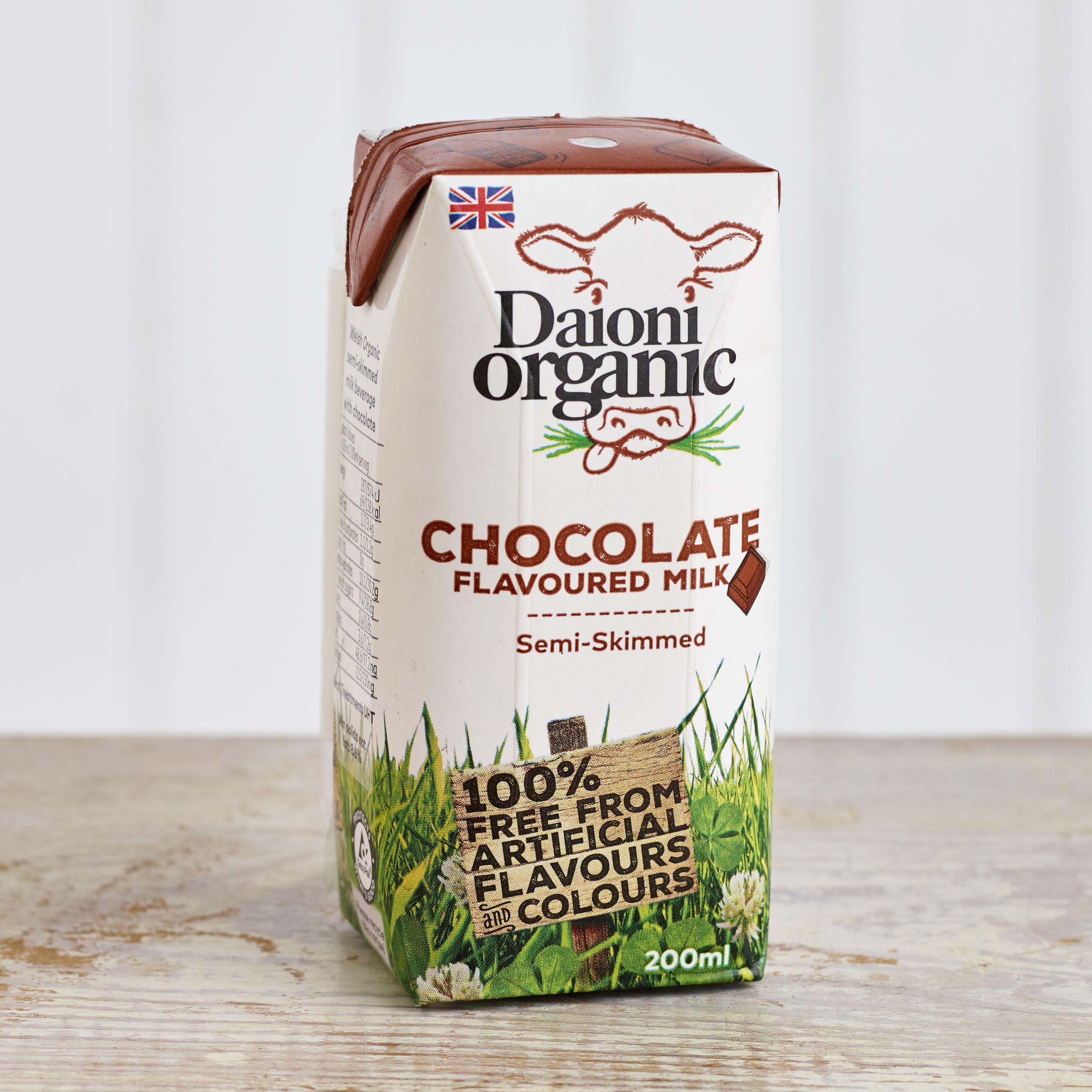 Daioni Organic Chocolate Flavoured Milk, 200ml