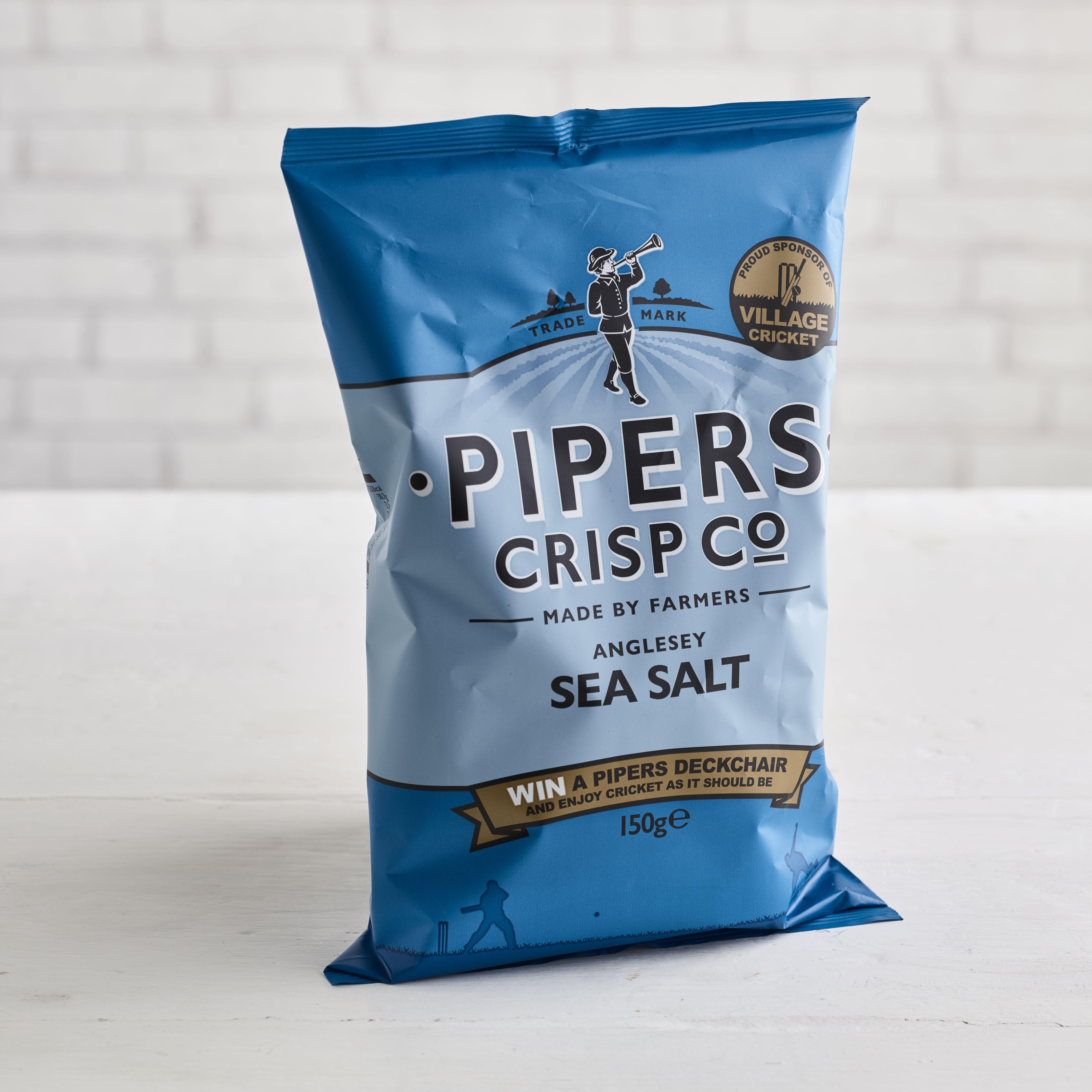 Piper's Crisps Angelsey Sea Salt, 150g