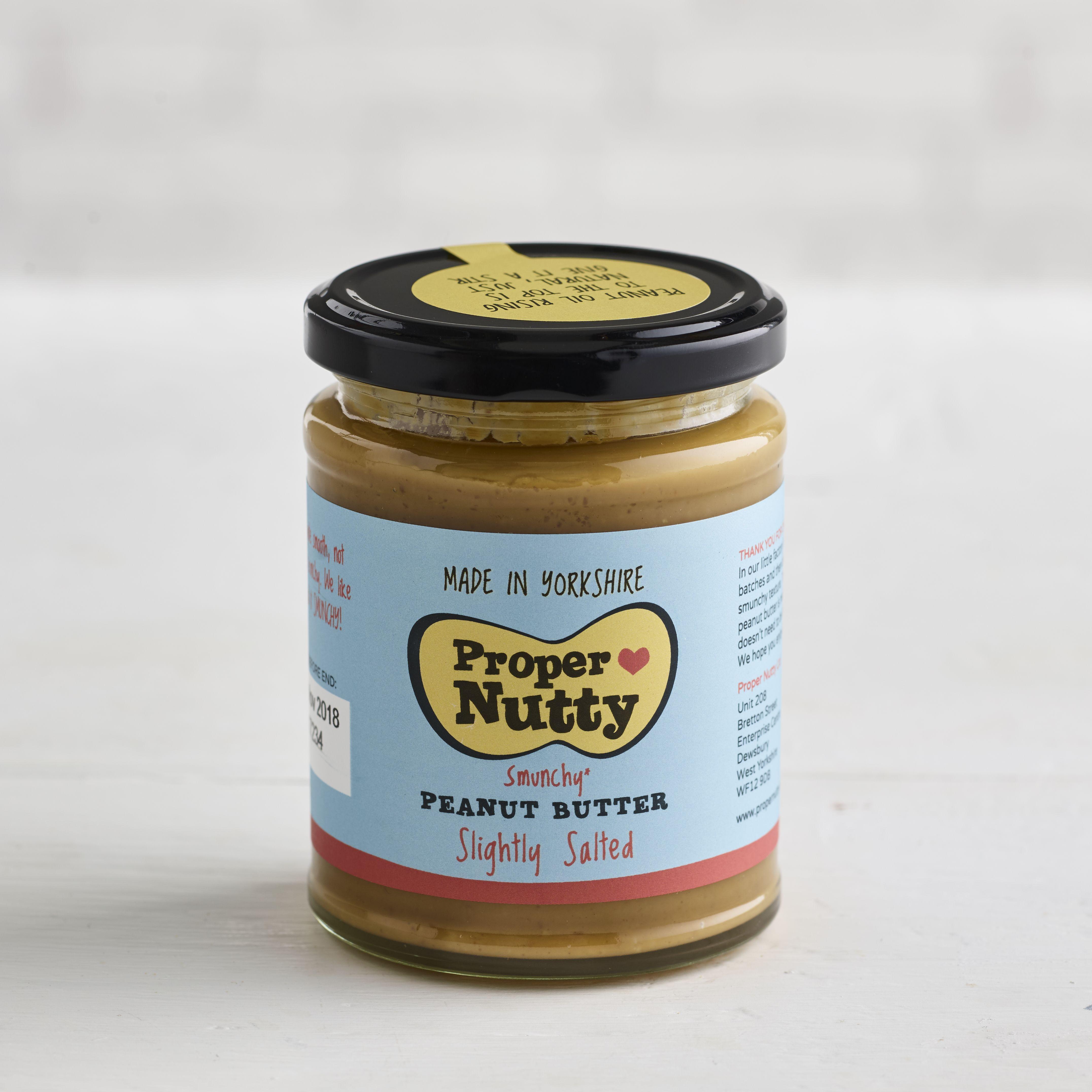 Proper Nutty Slightly Salted Peanut Butter, 280g
