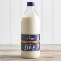 Delamere Sterilised Whole Milk, 500ml