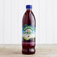 Robinsons No Added Sugar Apple & Blackcurrant Squash, 1L