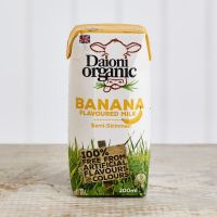 Daioni Organic Banana Flavoured Milk, 200ml