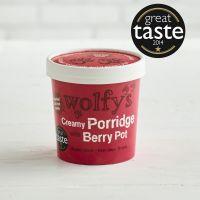 Wolfys Creamy Porridge with Berry Pot, 100g