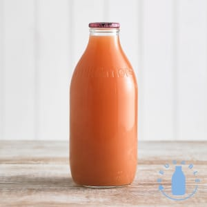 Grapefruit Juice Glass Bottle, 1pt/568ml
