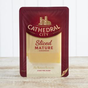 Cathedral City Sliced Mature Cheddar, 150g