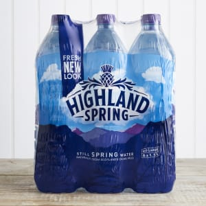 Highland Spring Still Water Multipack, 6 x 1.5L