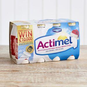 Actimel Original Fat Free Yoghurt Drinks, 8 x 100g