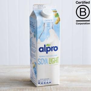 Alpro Soya Original Light Milk Alternative Unsweetened, 1L