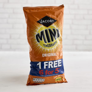 Jacob's Original Mini Cheddars, 6 Pack