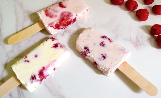 how to make froyo pops