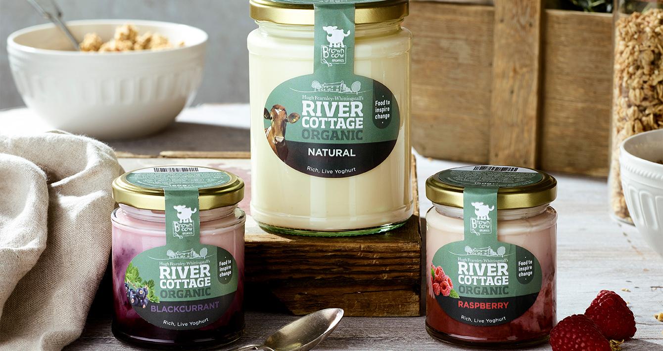 River Cottage yoghurts
