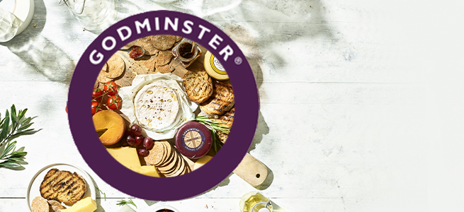 Godminster cheddar cheese