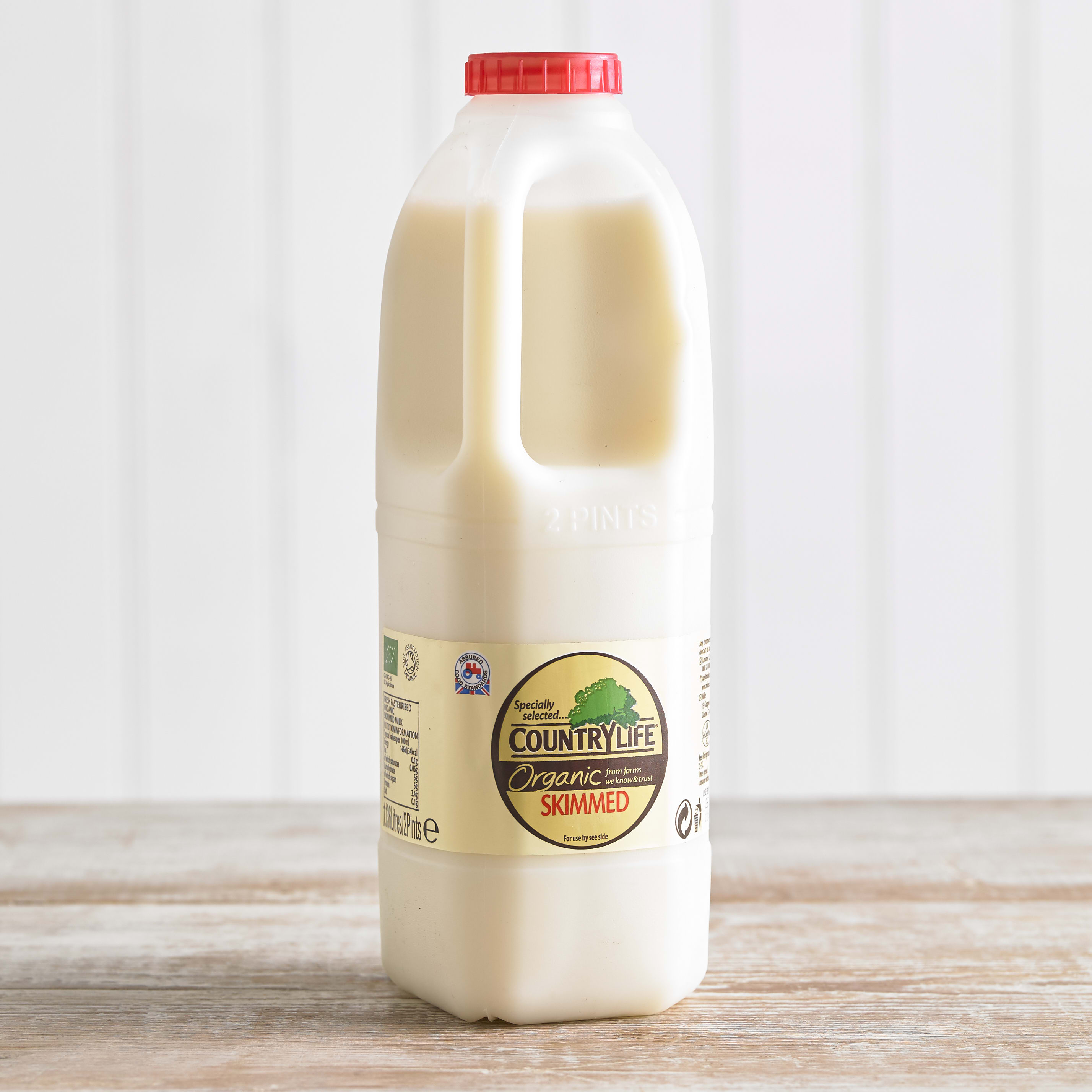 Country Life Organic Skimmed Milk, 1.136L, 2pt