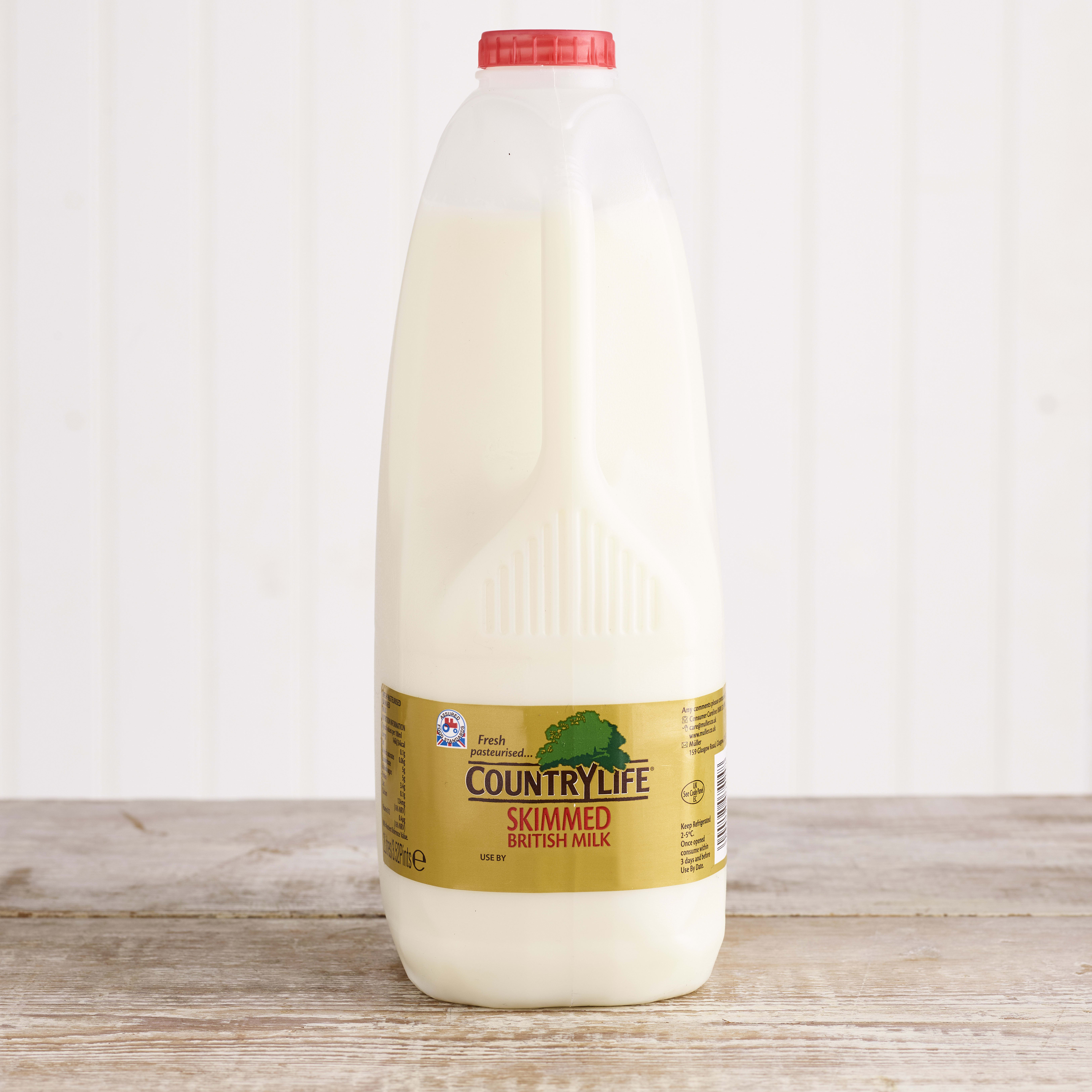 Country Life Skimmed Milk, 2L
