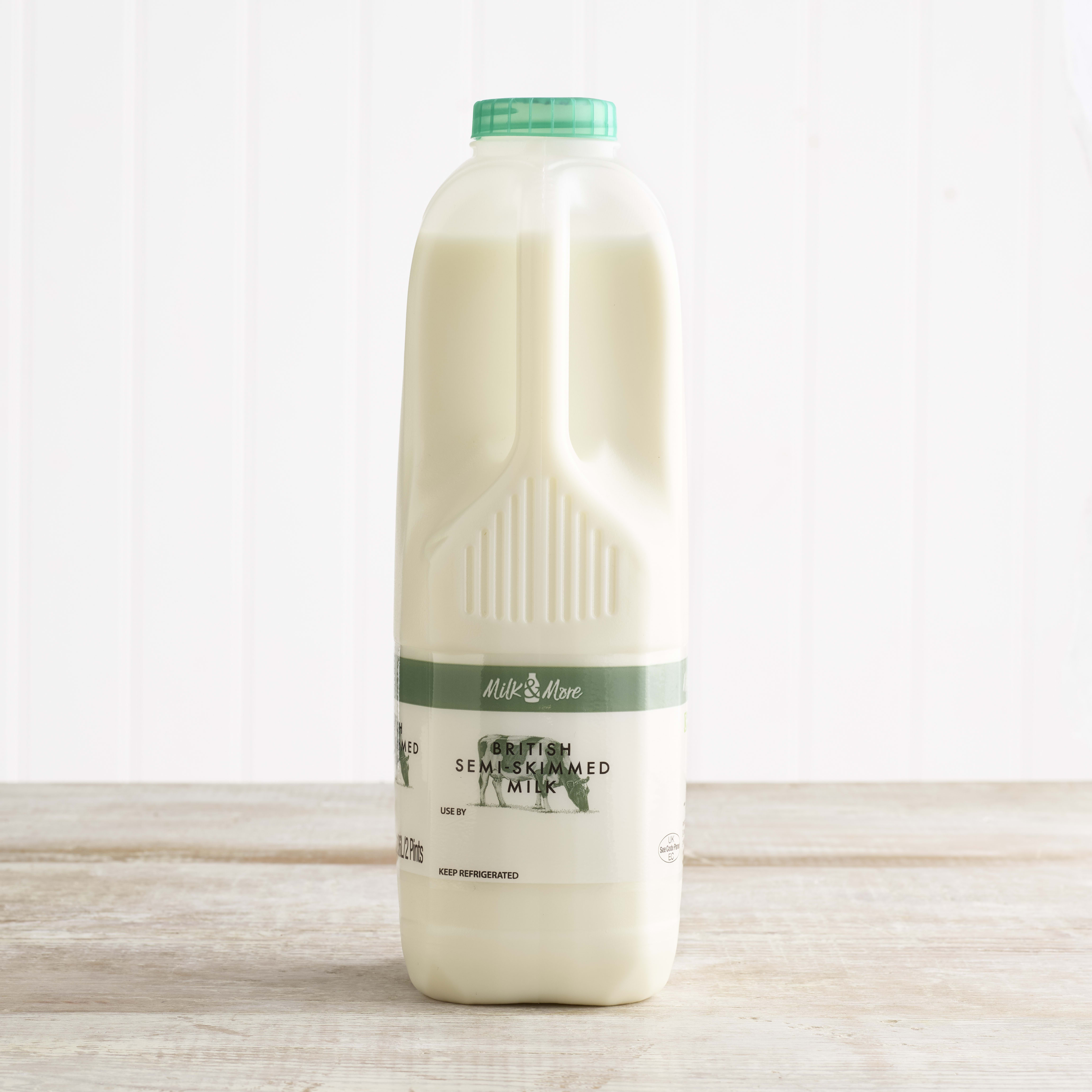 Milk & More Semi Skimmed Milk 2pt
