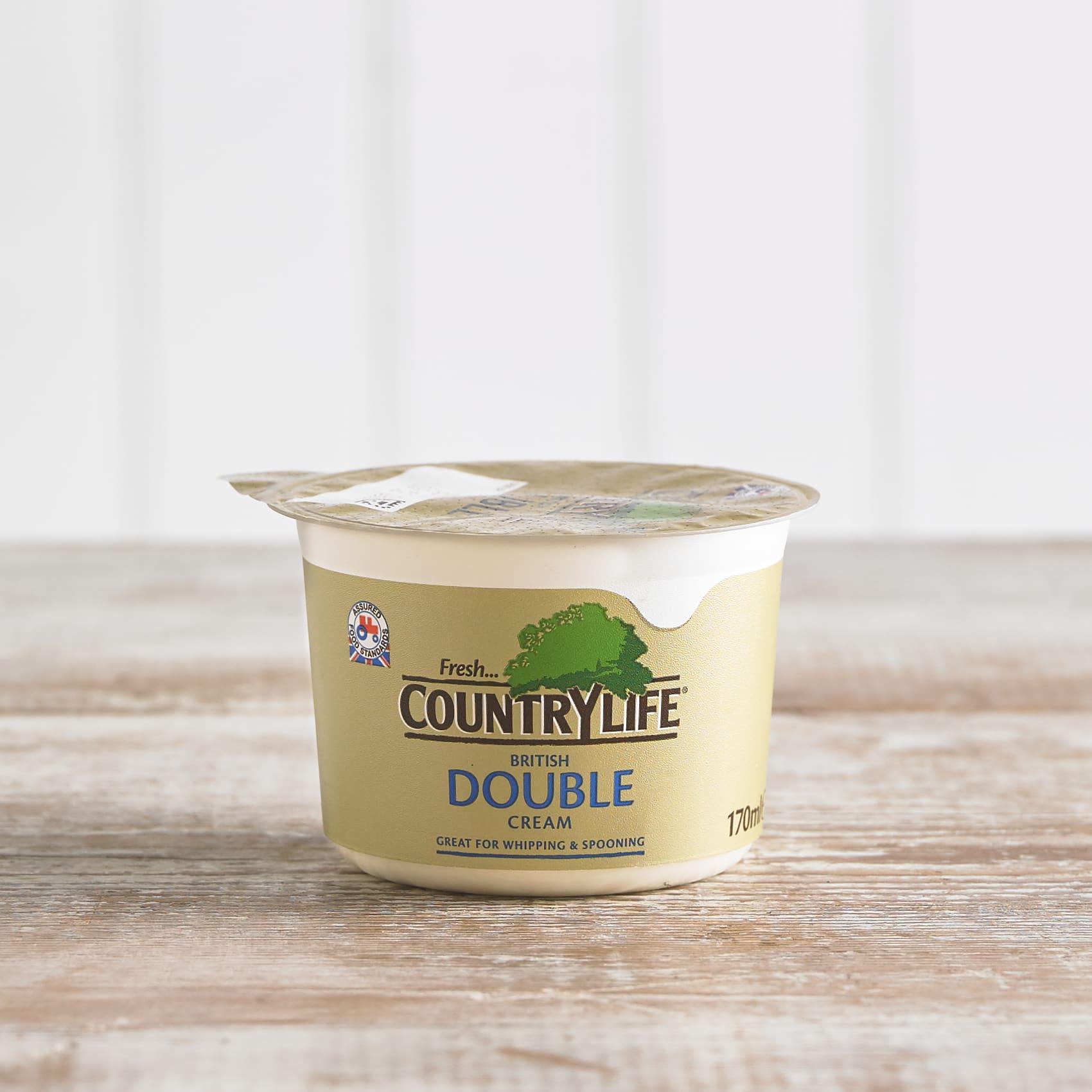 Country Life Double Cream, 170ml