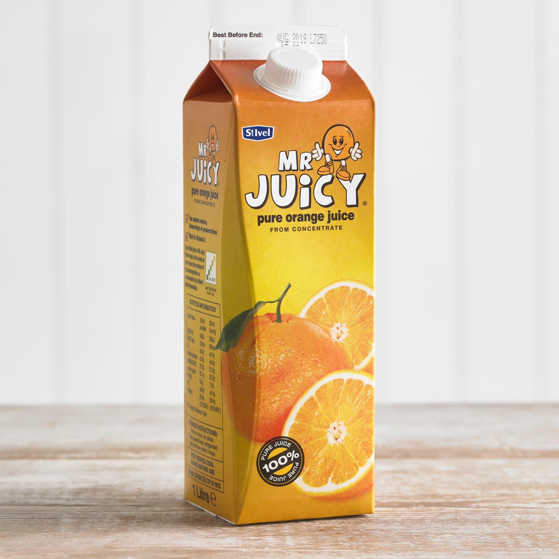Mr Juicy Orange Juice, 1L