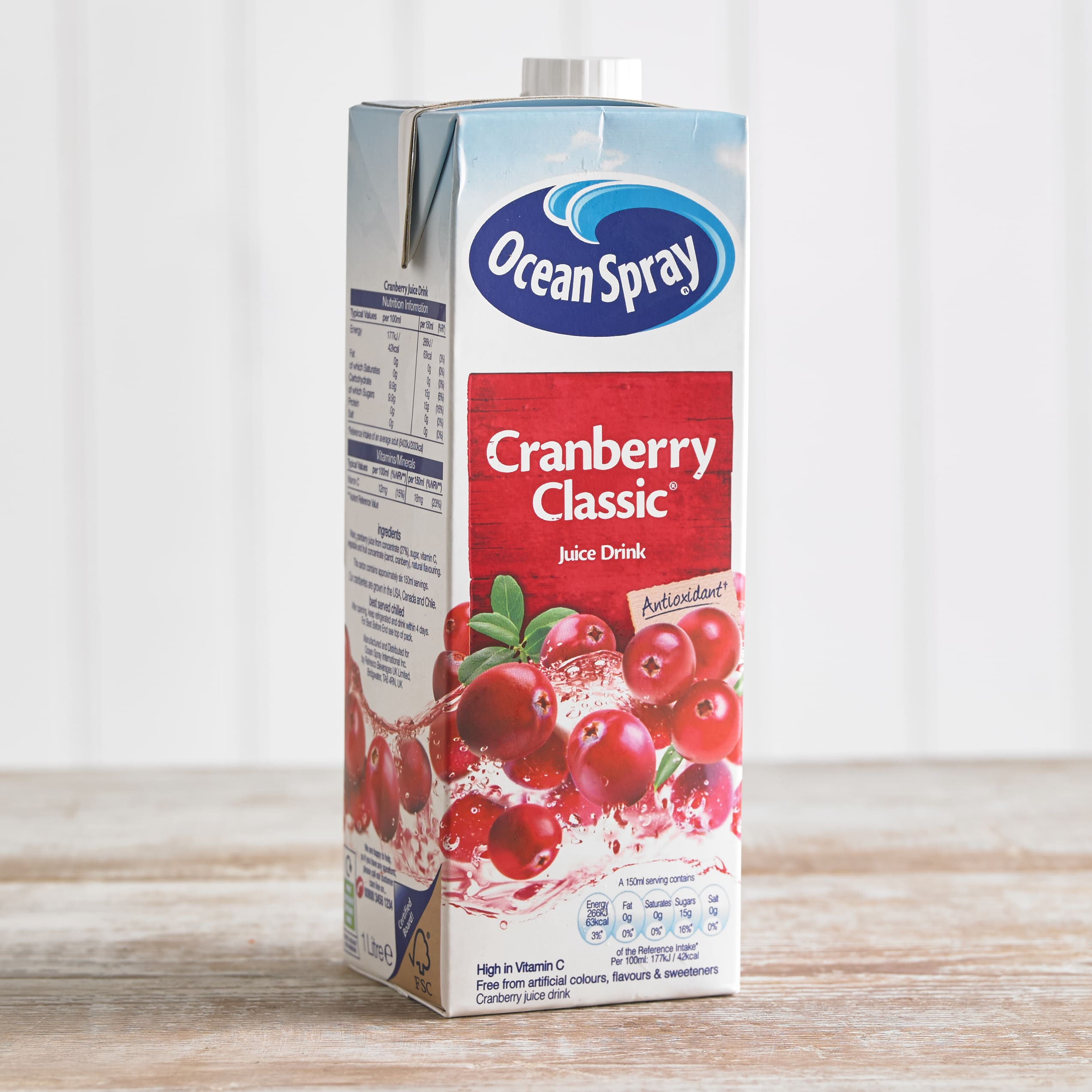 Ocean Spray Cranberry Classic Juice Drink, 1L