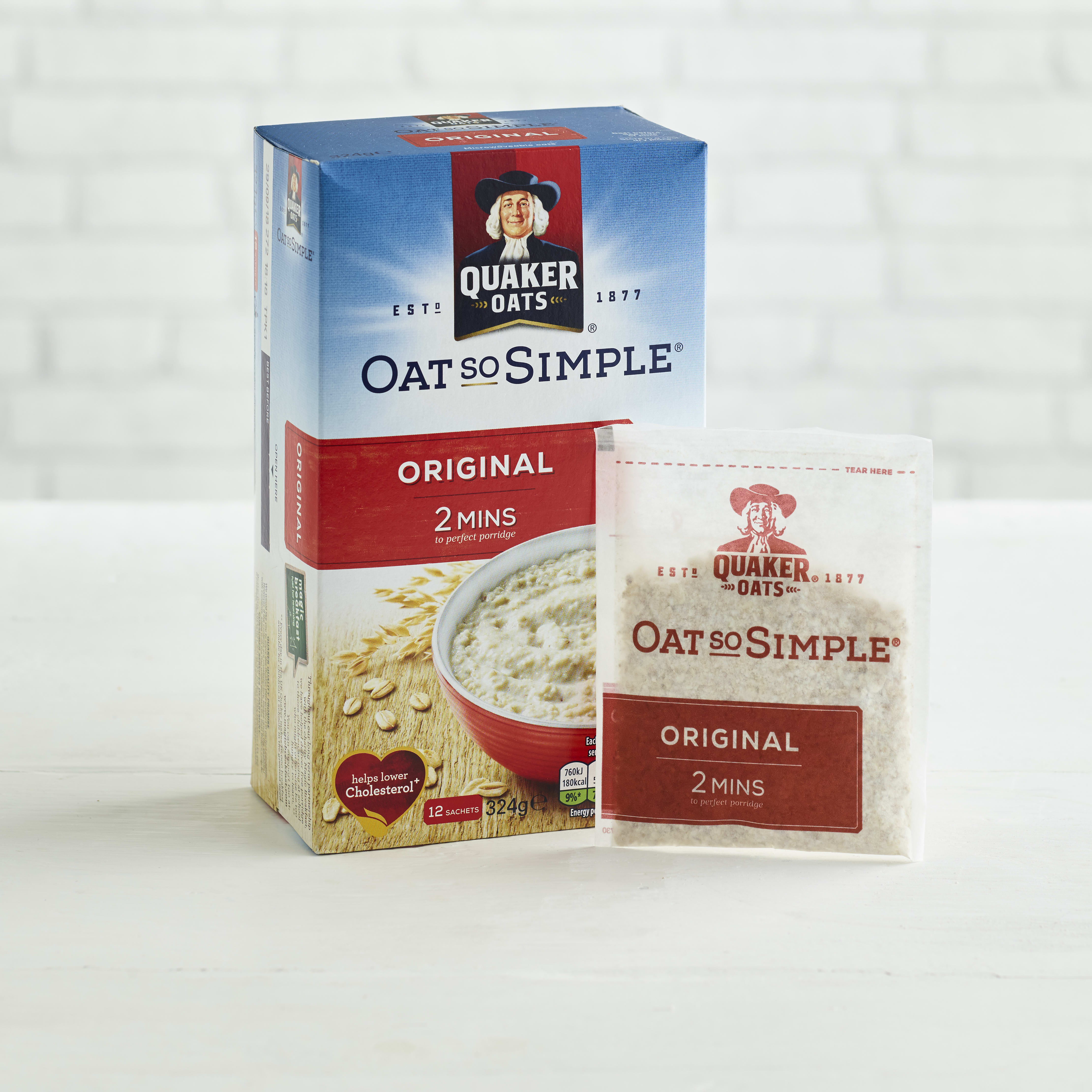 Quaker Oat So Simple Original, 12 x 27g