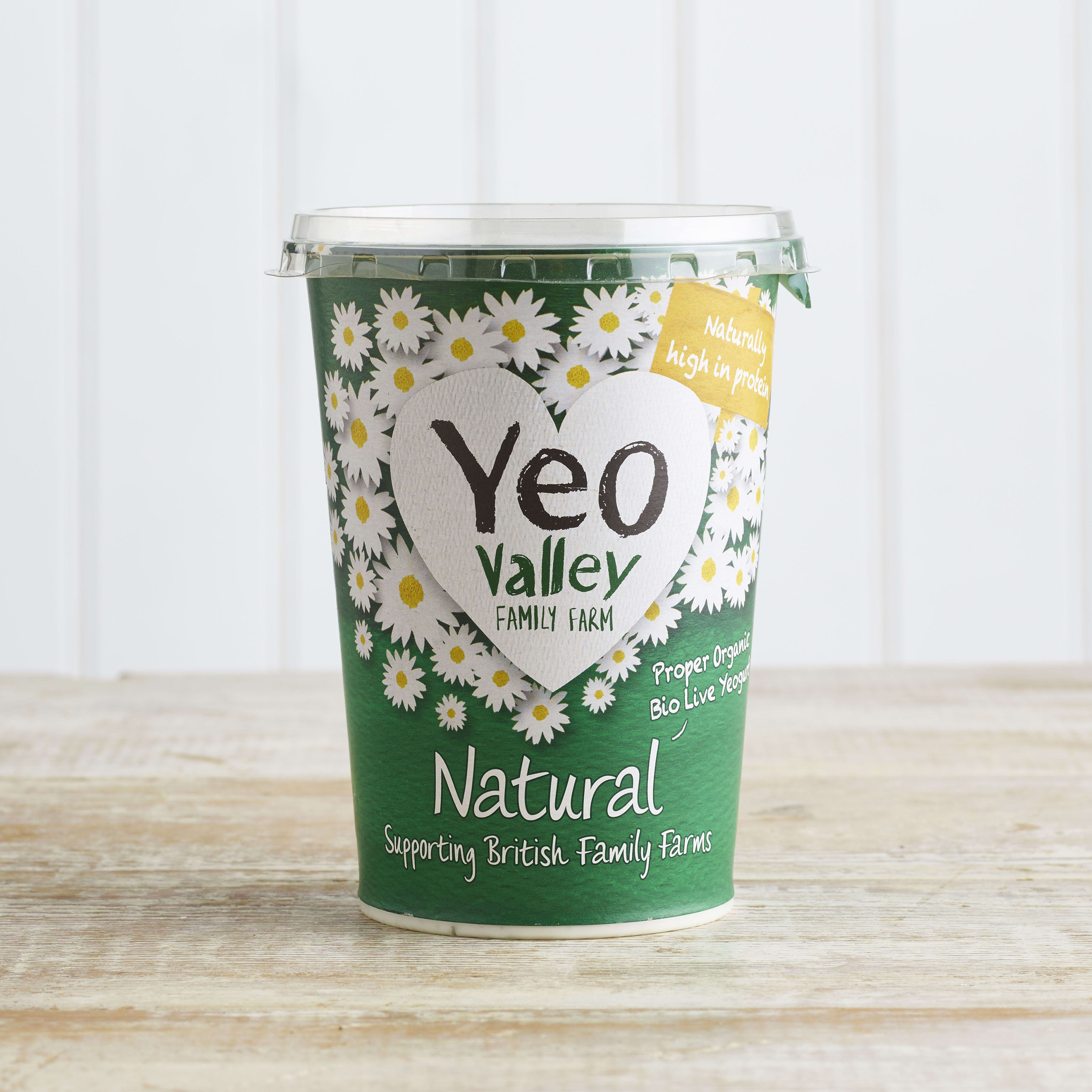 Yeo Valley Organic Natural Yoghurt, 500g