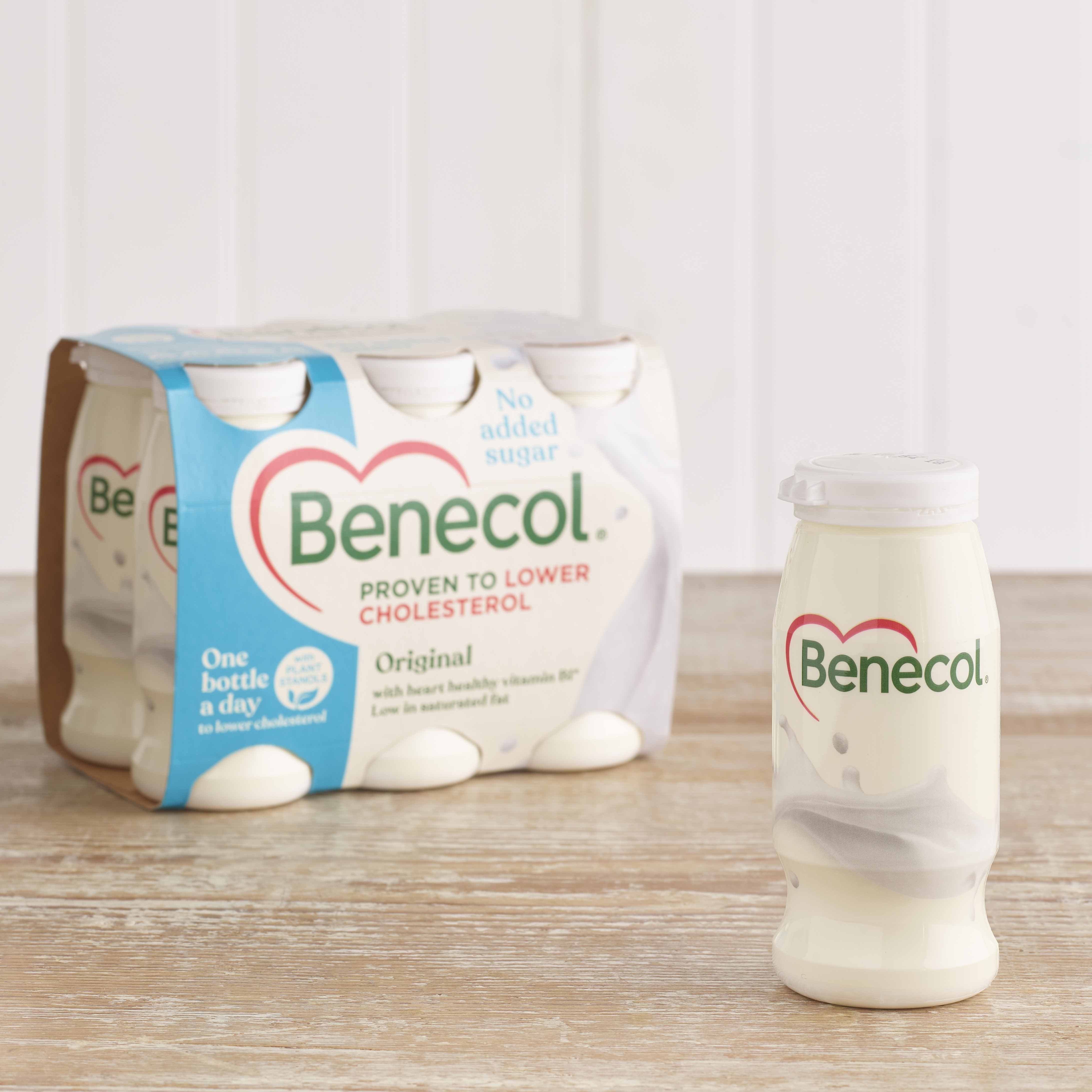 Benecol Light Yoghurt Drinks, 6 x 67.5g
