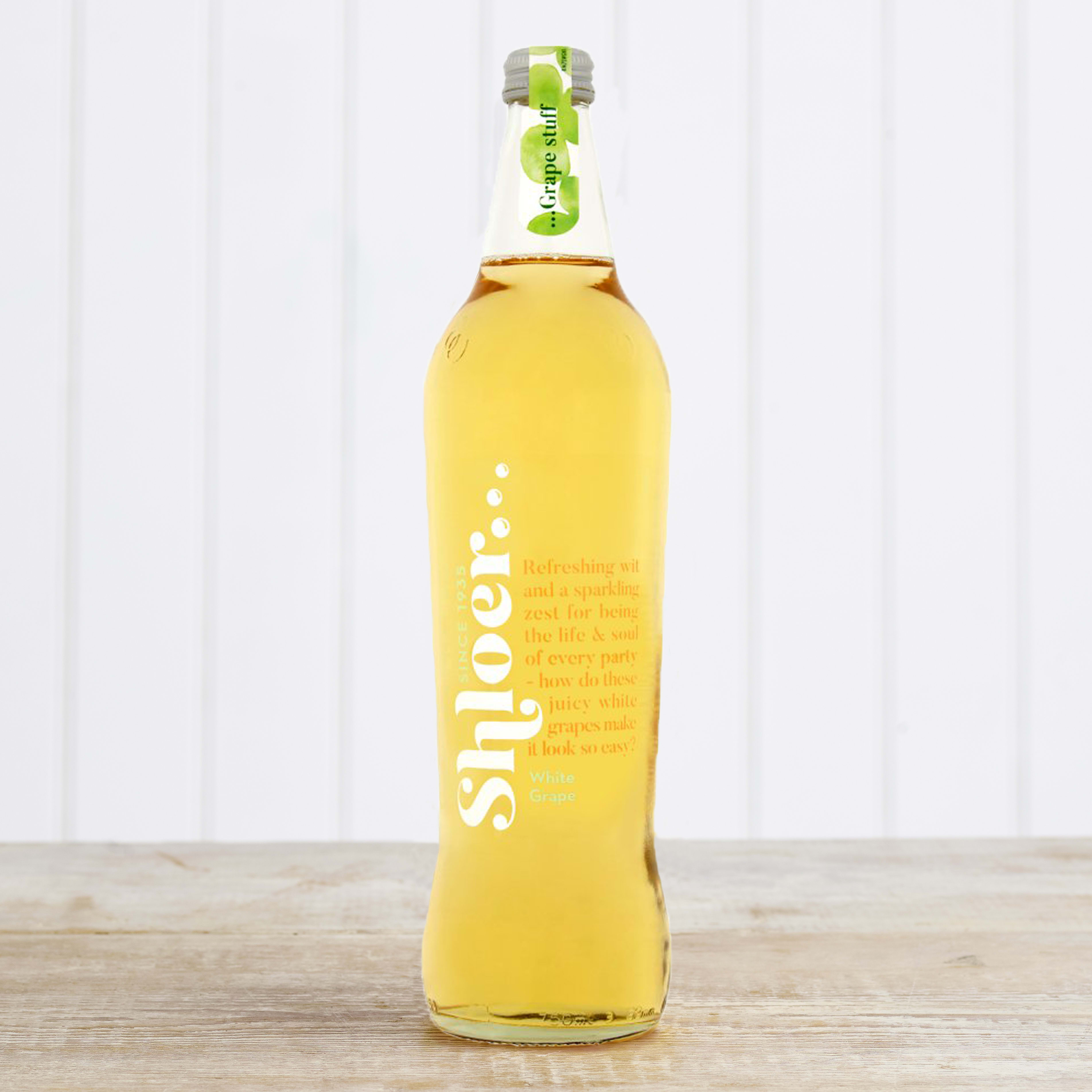 Shloer Sparkling White Grape Juice, 750ml