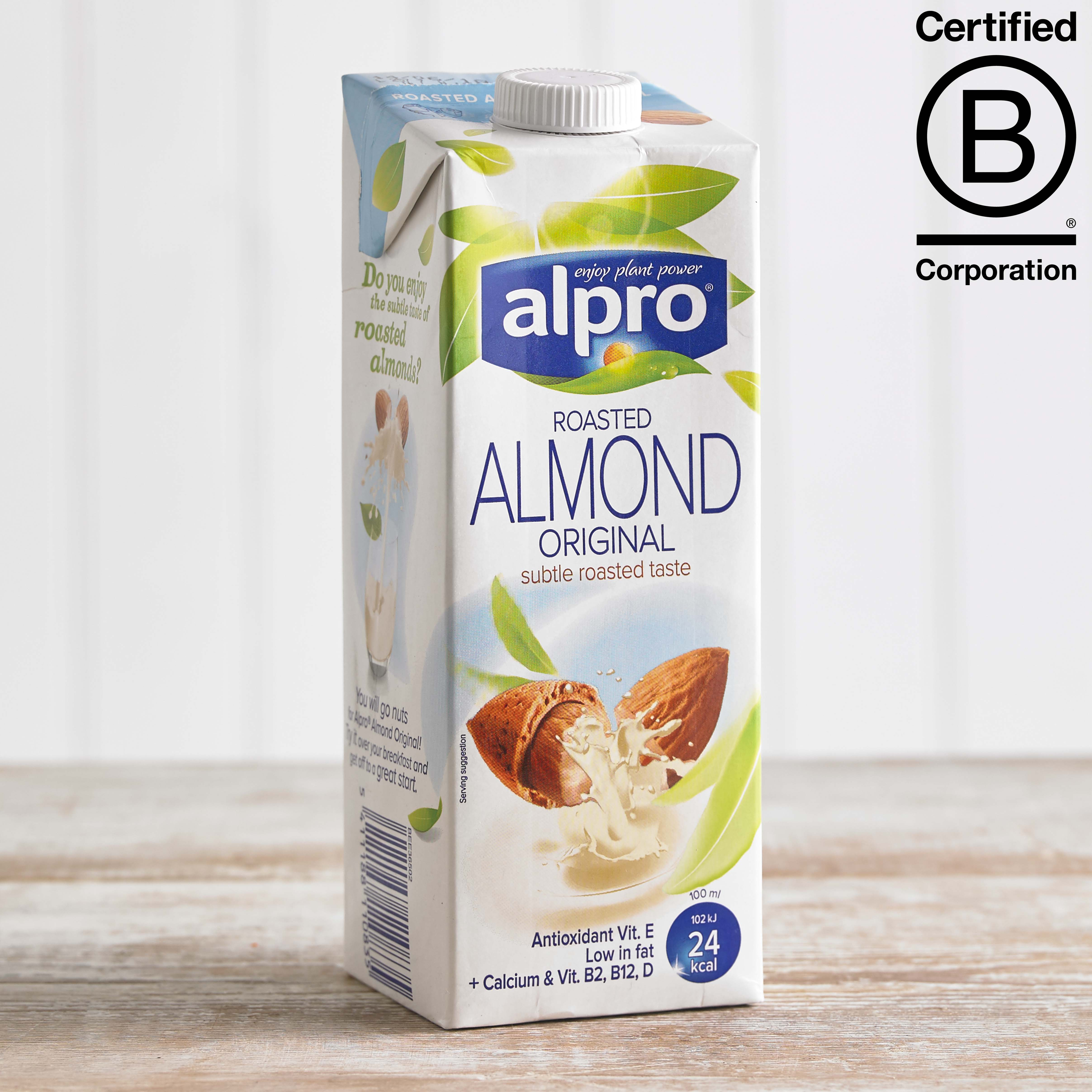 Alpro Almond Longlife Milk Alternative, 1L