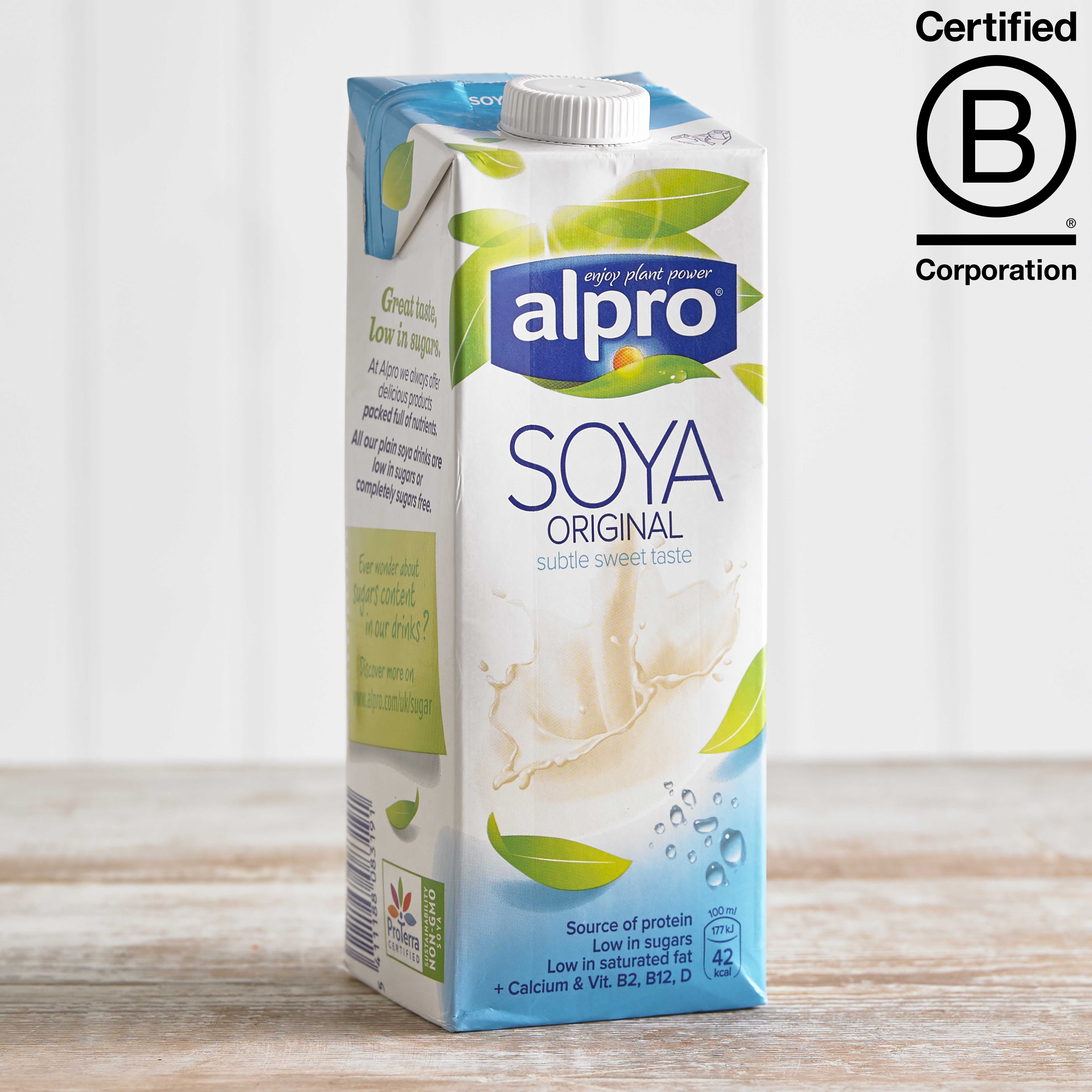 Alpro Soya Original Longlife Milk Alternative, 1L