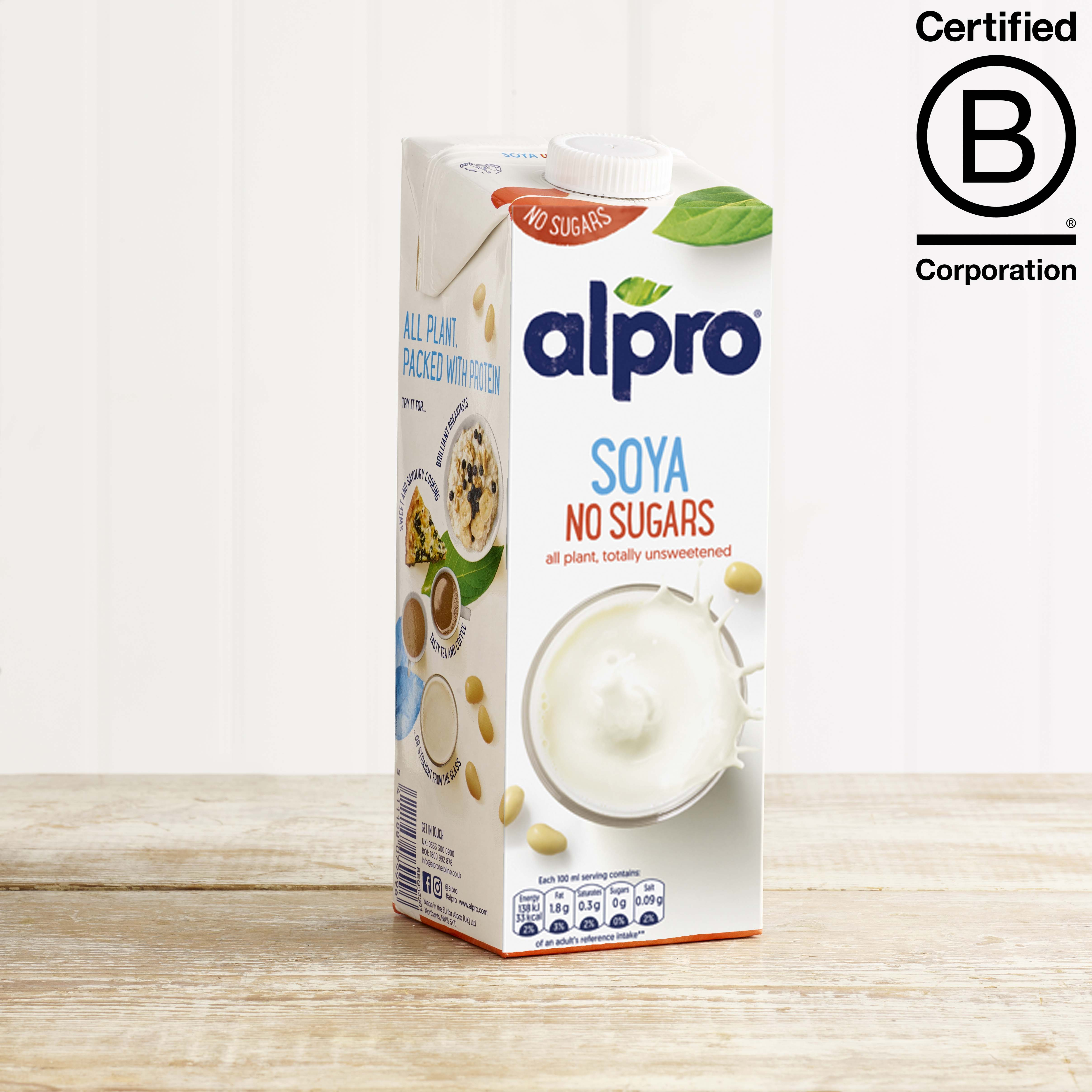 Alpro Soya No Sugar Longlife, 1L